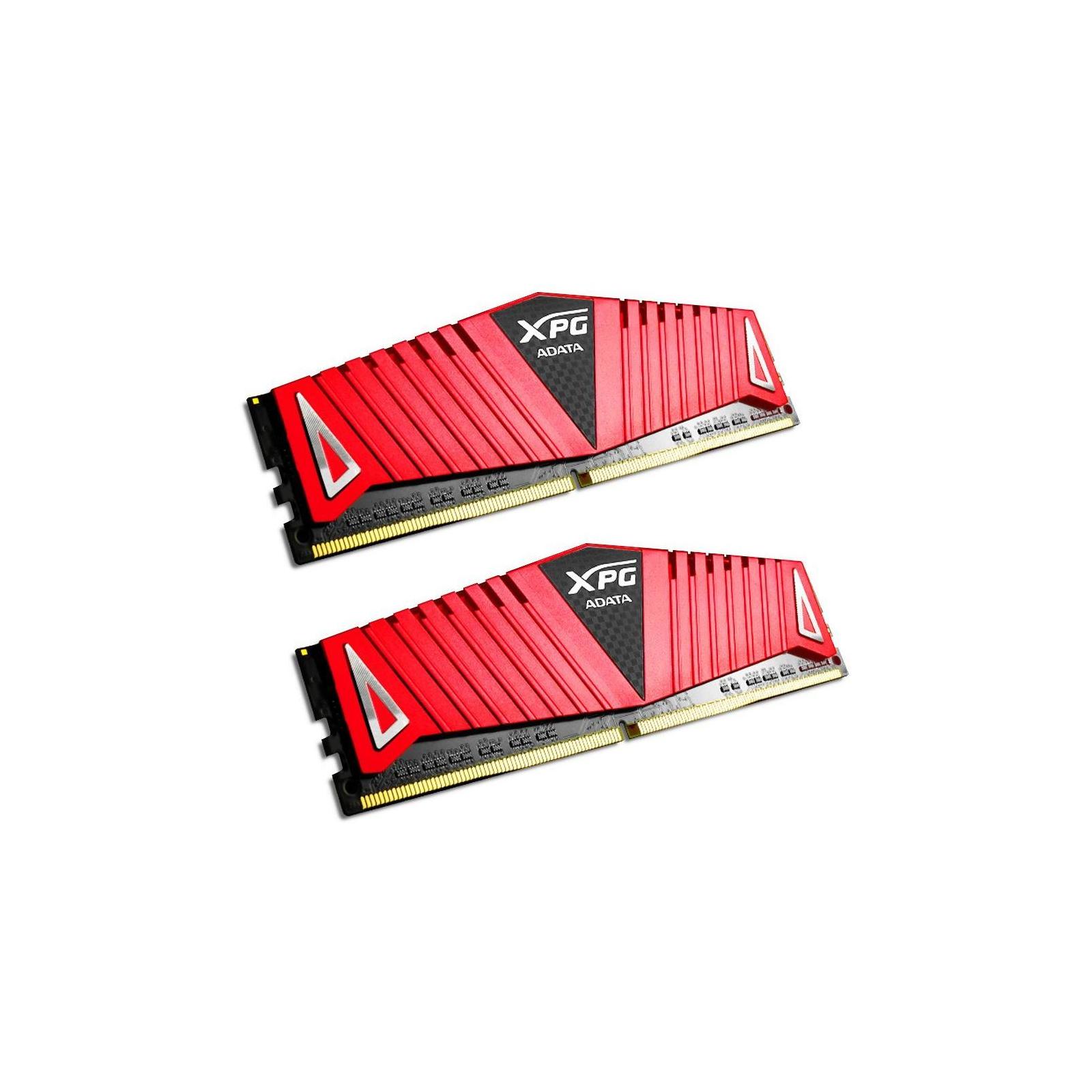 Модуль памяти для компьютера DDR4 8GB (2x4GB) 2666 MHz XPG Z1 Red ADATA (AX4U2666W4G16-DRZ) изображение 2