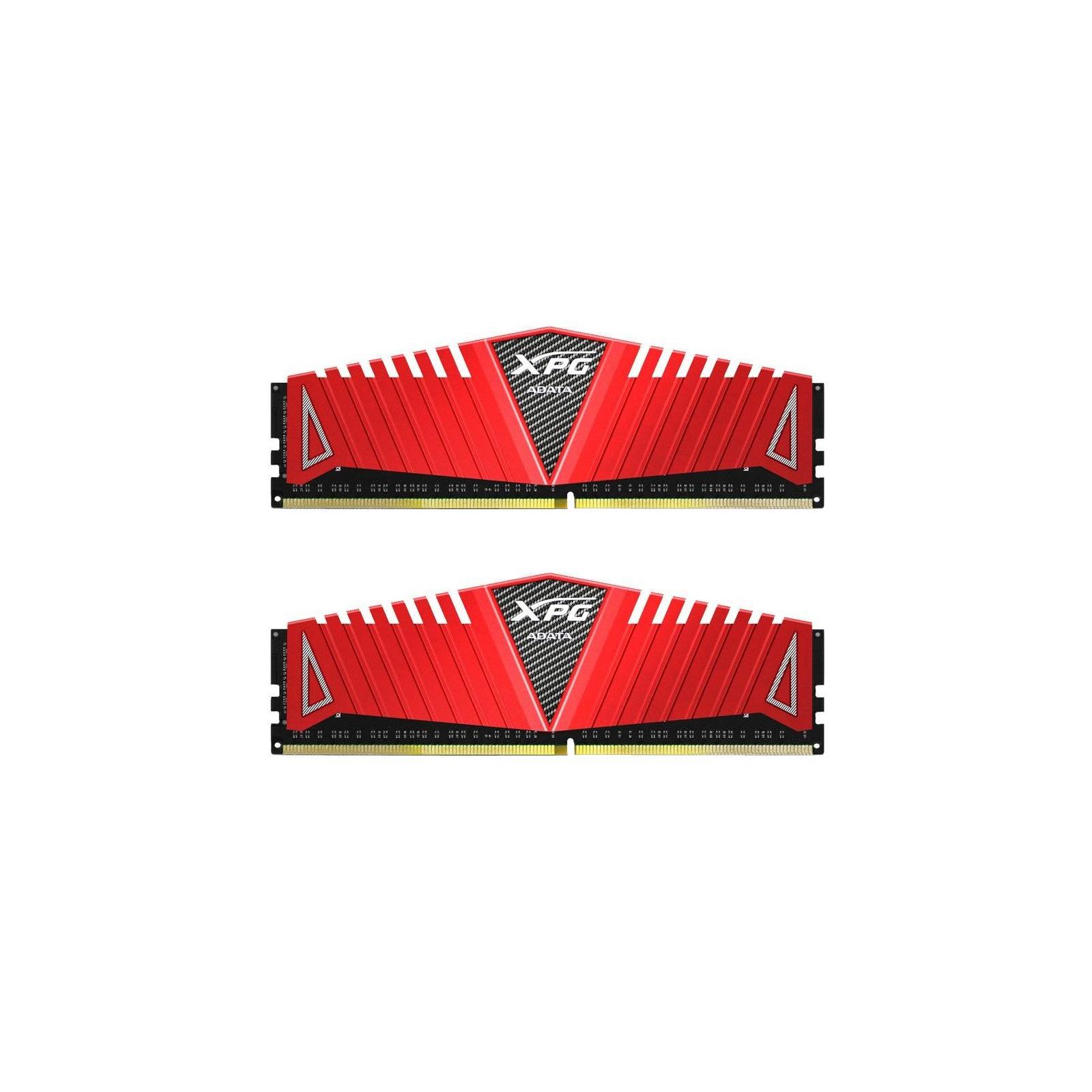 Модуль памяти для компьютера DDR4 8GB (2x4GB) 2666 MHz XPG Z1 Red ADATA (AX4U2666W4G16-DRZ)