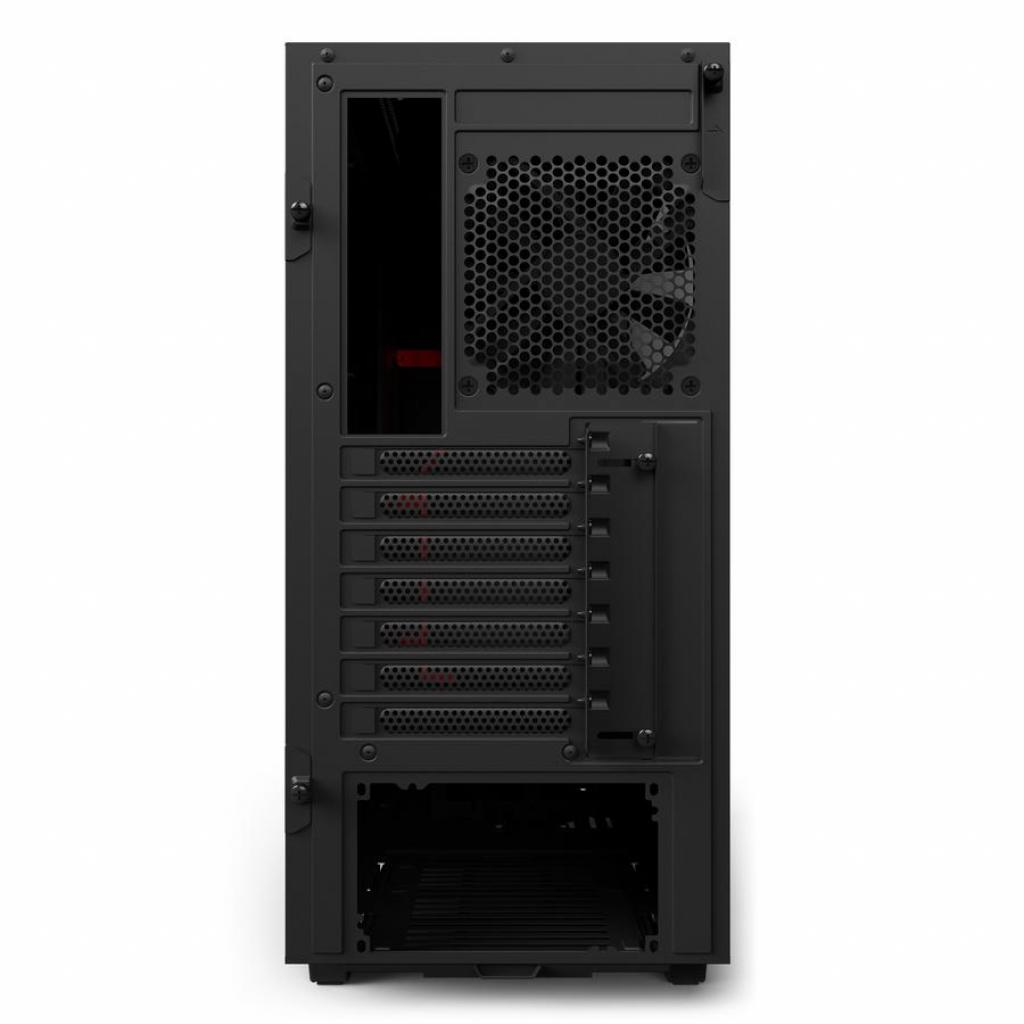 Корпус NZXT H500 Black Red (CA-H500B-BR) изображение 10