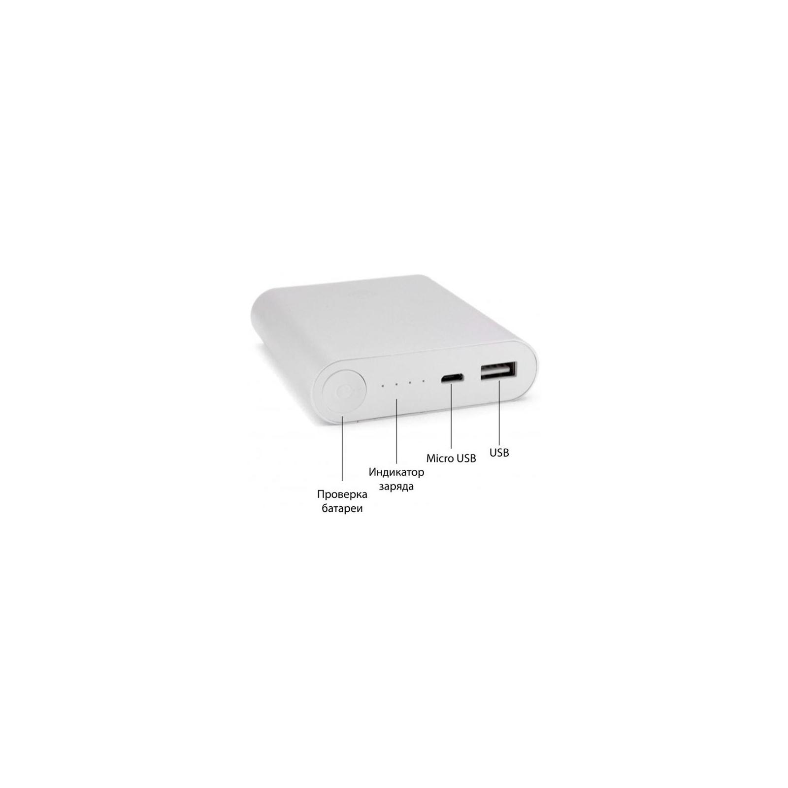 Батарея универсальная EXTRADIGITAL ED-86 Silver 10400 mAh 1*USB 5V/1.0A (PBU3424) изображение 11