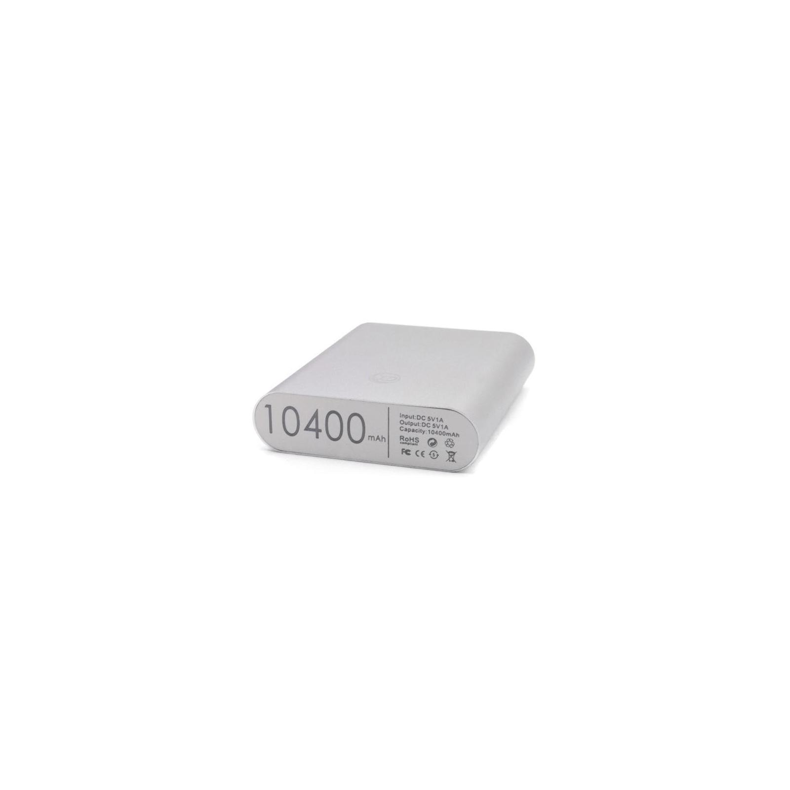 Батарея универсальная EXTRADIGITAL ED-86 Silver 10400 mAh 1*USB 5V/1.0A (PBU3424) изображение 6