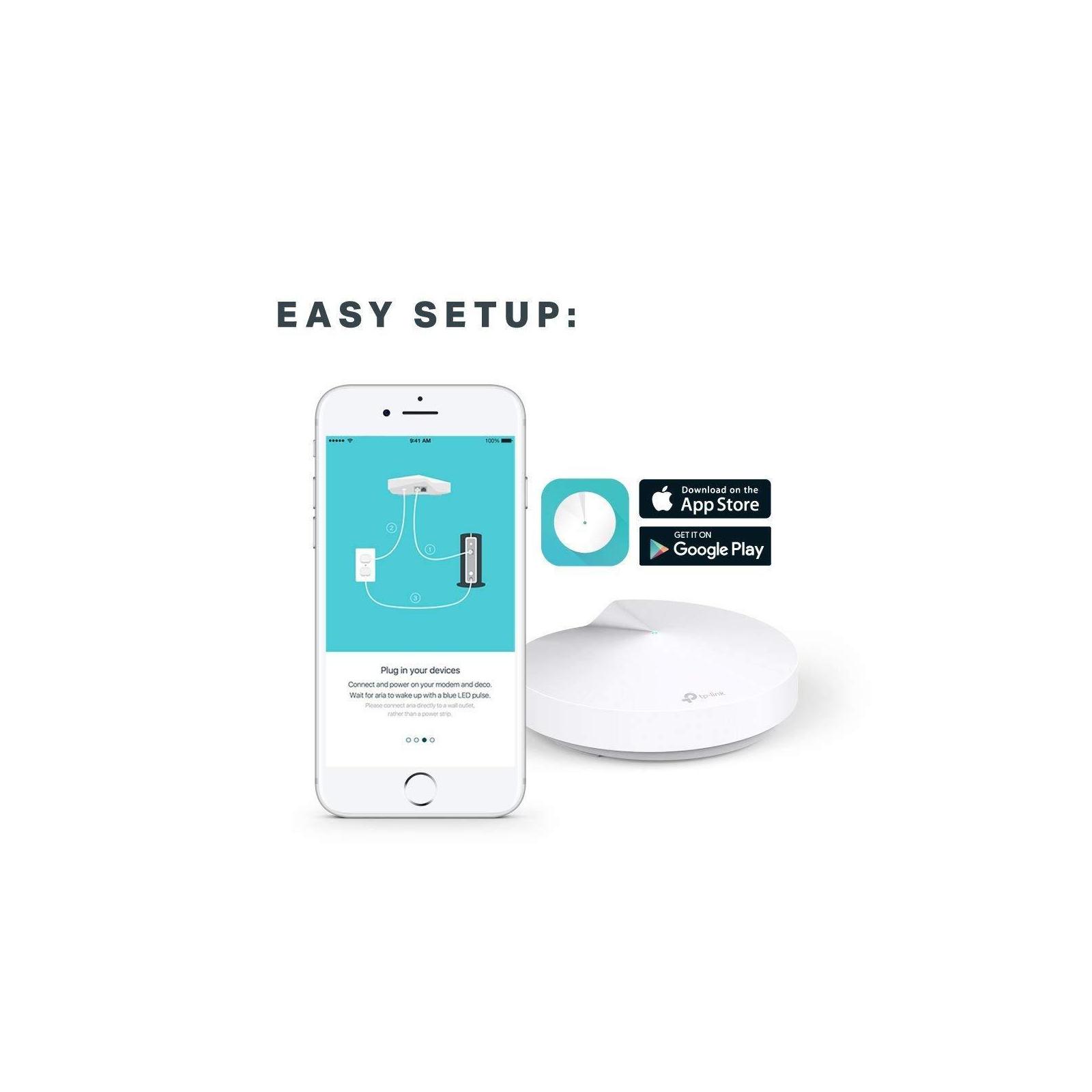 Точка доступа Wi-Fi TP-Link DECO-M5-3-PACK изображение 8