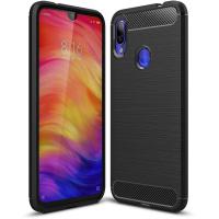 Чехол для моб. телефона Laudtec для Xiaomi Redmi Note 7 Carbon Fiber (Black) (LT-XRN7)