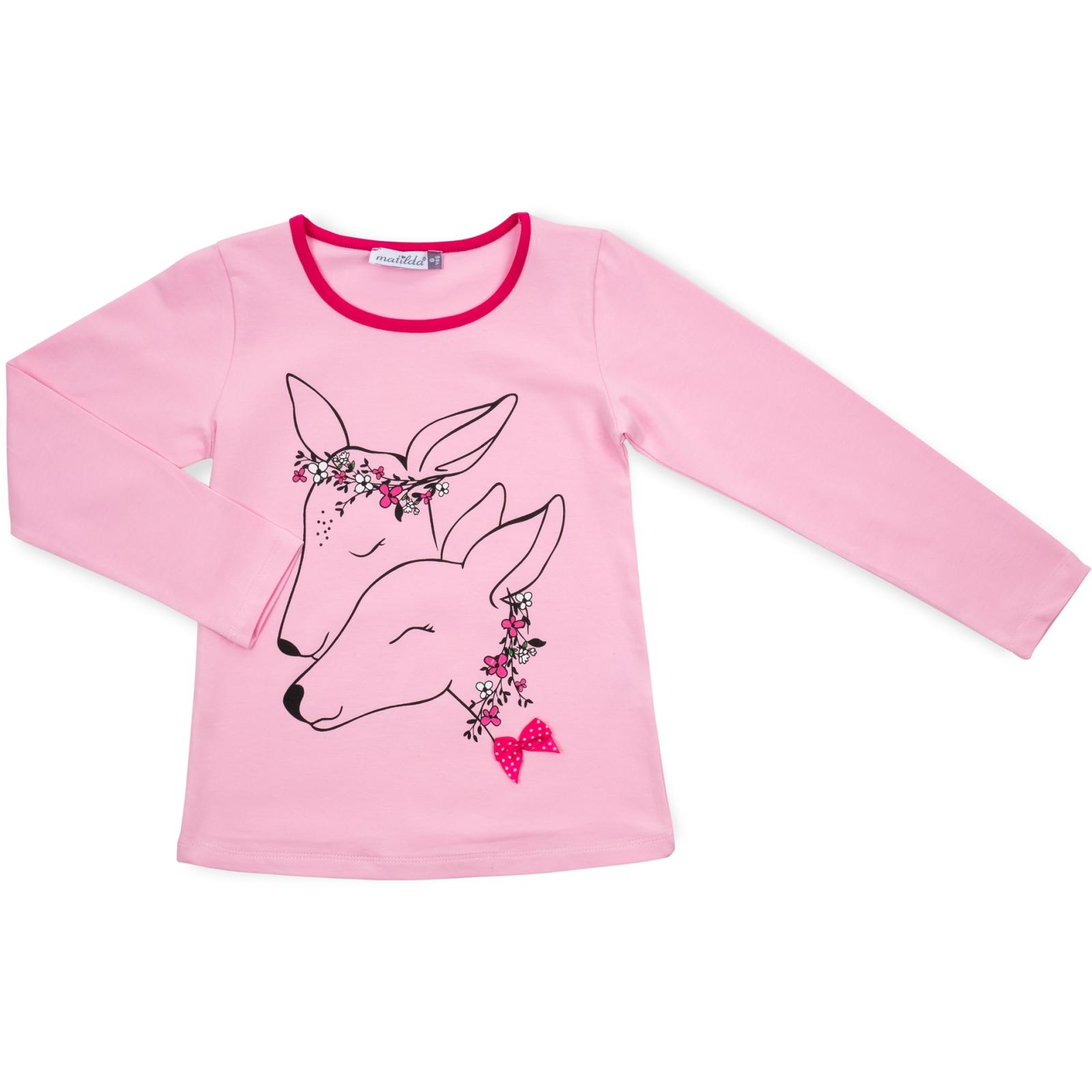 Пижама Matilda с оленями (10817-3-122G-pink) изображение 2