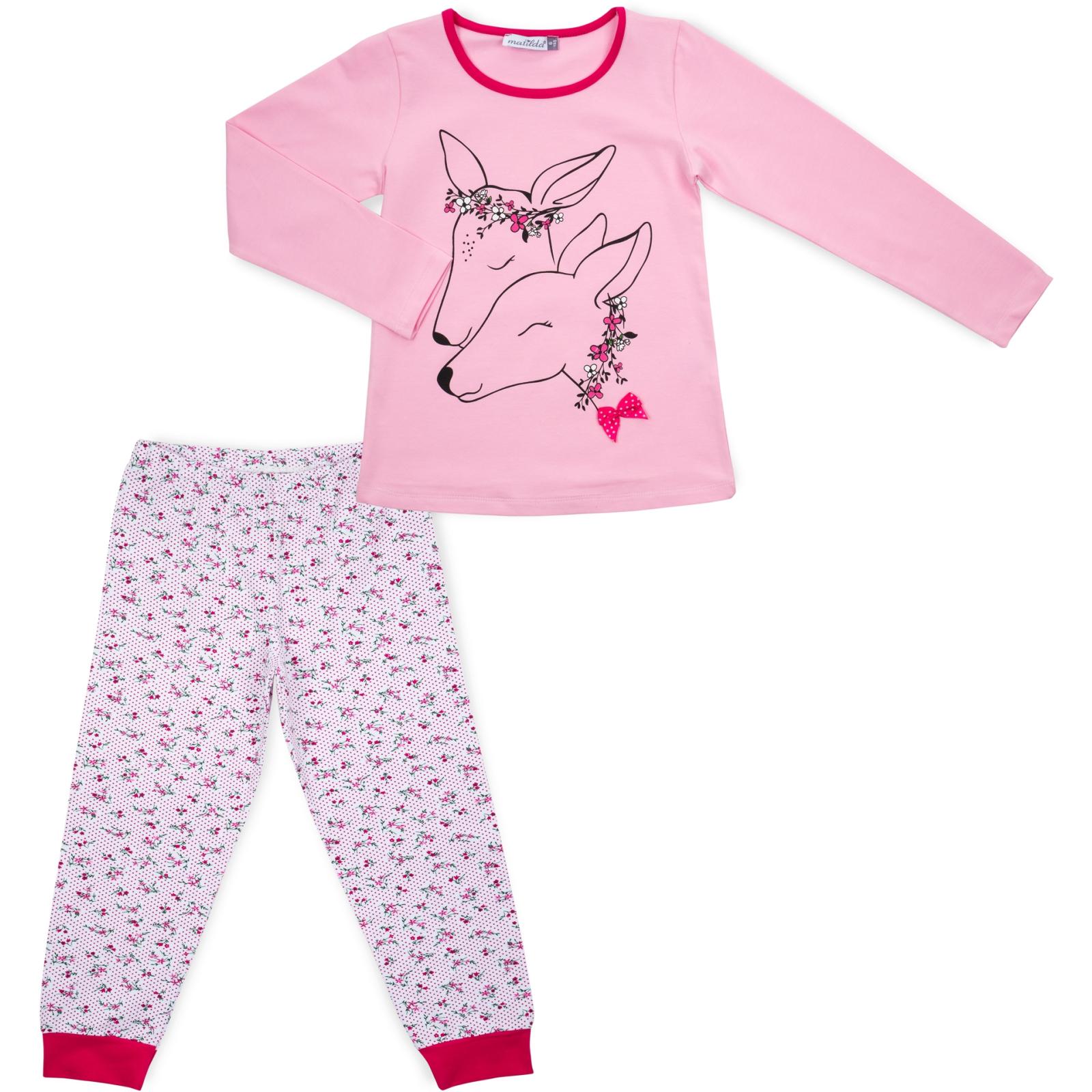 Пижама Matilda с оленями (10817-3-122G-pink)