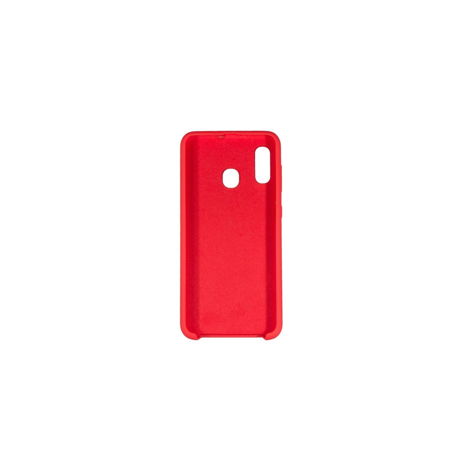 Чехол для моб. телефона ColorWay ColorWay Liquid Silicone для Samsung Galaxy A30 Red (CW-CLSSGA305-RD) изображение 2