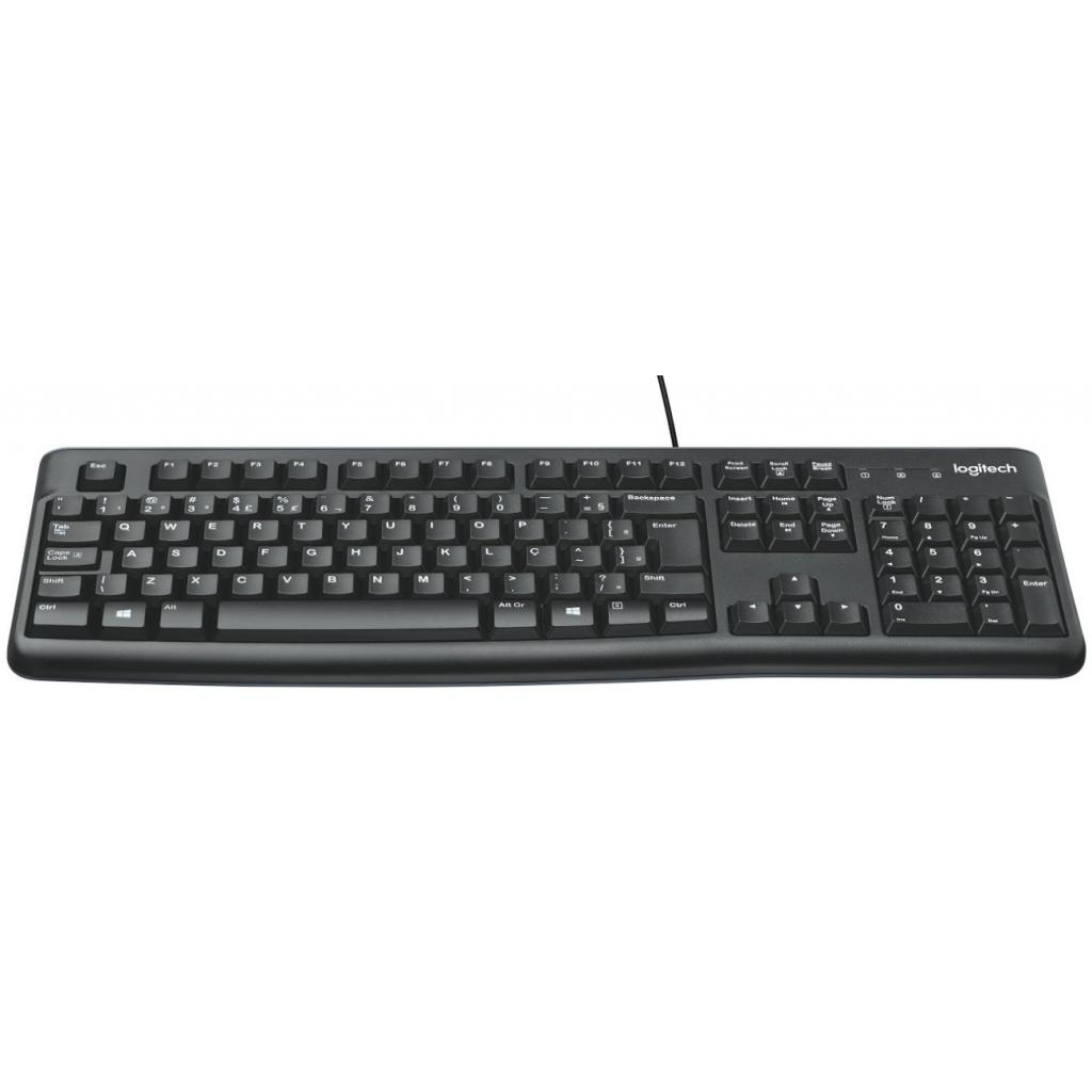 Клавіатура Logitech K120 Ukr (920-002643) зображення 2