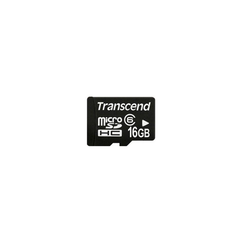 Карта памяти Transcend 16Gb microSDHC class 4 (TS16GUSDC4)