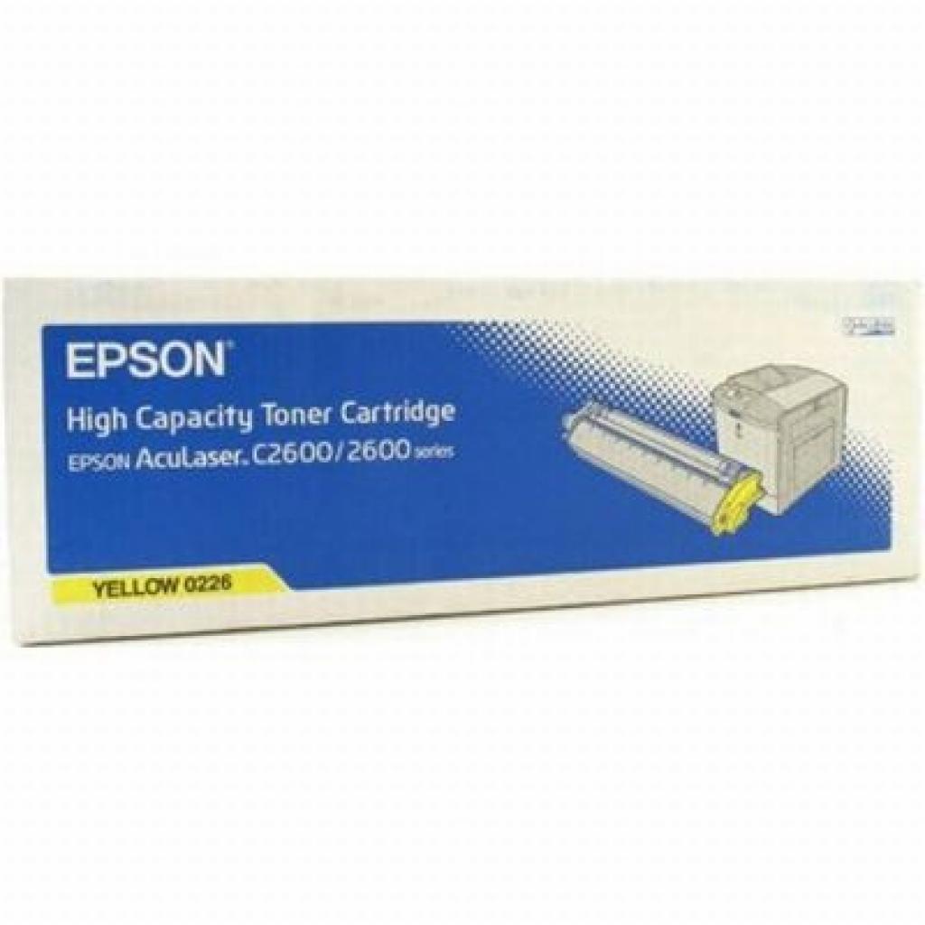 Картридж EPSON AcuLaser C2600 yellow (C13S050226)