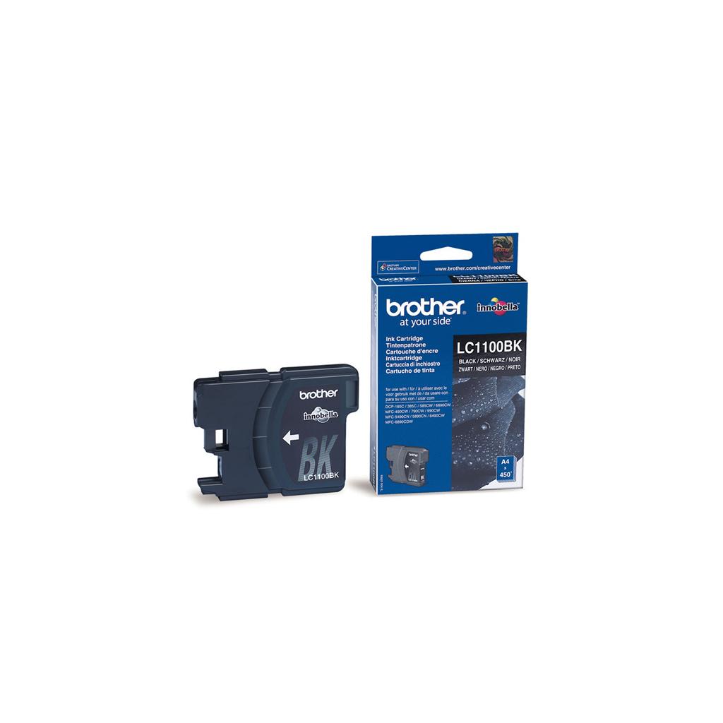 Картридж Brother DCP-385/6690,MFC990CW black (LC1100BK)