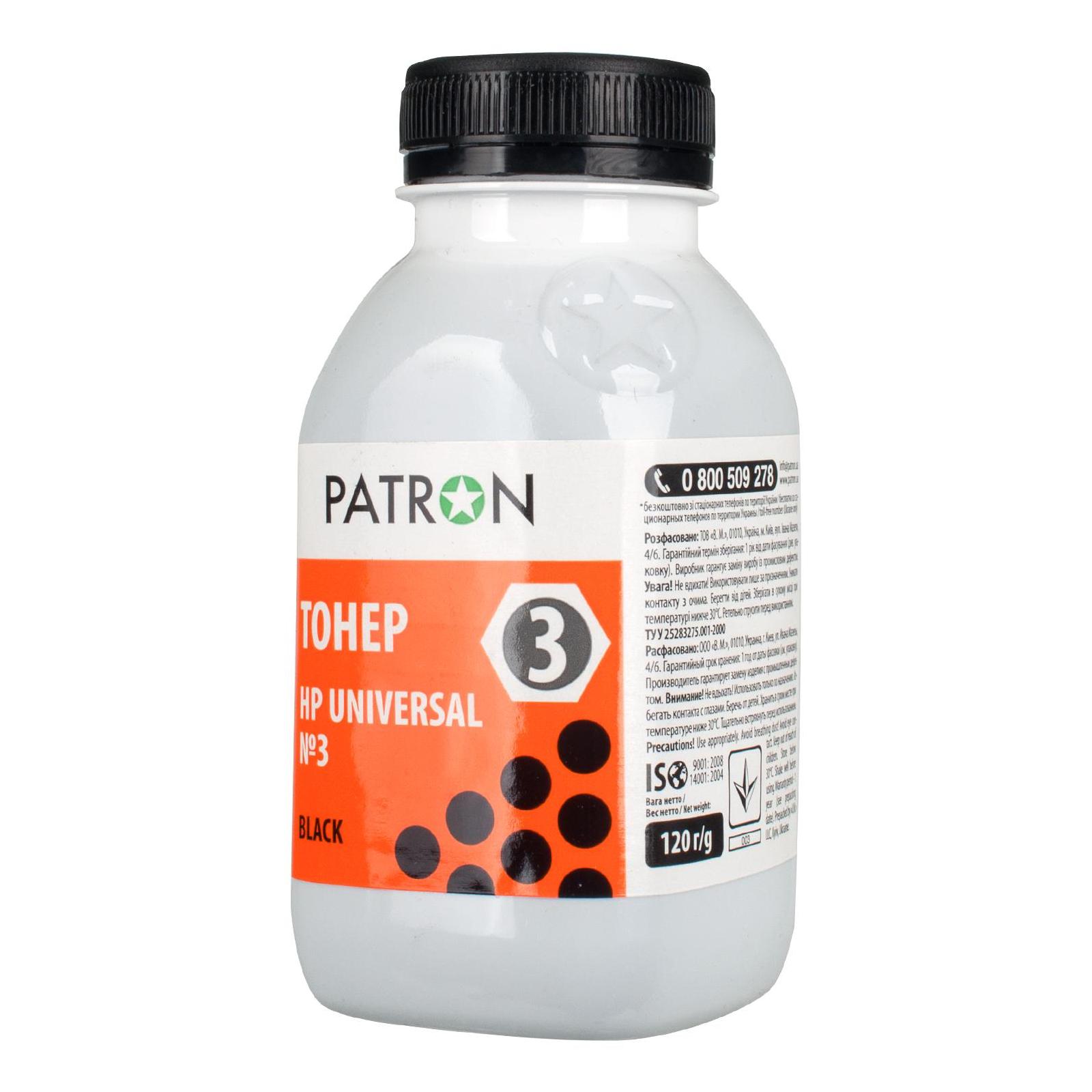 Тонер HP LJ Universal №3 PATRON (PN-HU3-120)