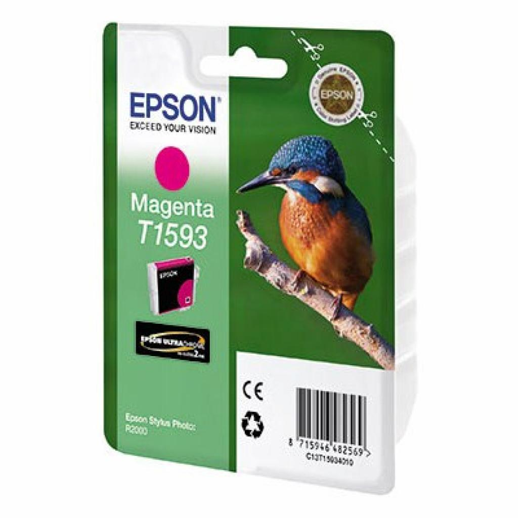 Картридж Epson StPhoto R2000 Magenta (C13T15934010)