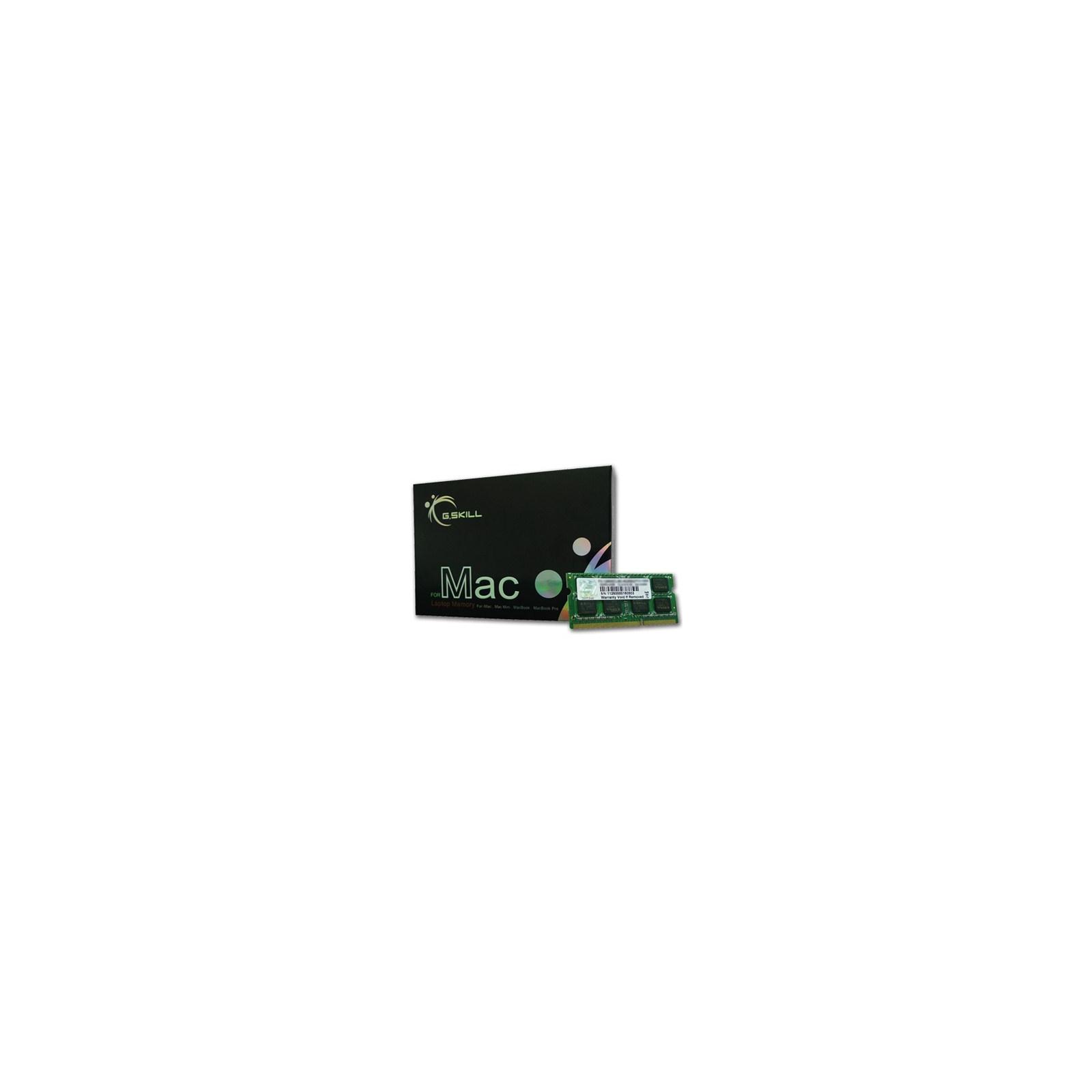 Модуль памяти для ноутбука SoDIMM DDR3 8GB 1333 MHz G.Skill (FA-1333C9S-8GSQ)