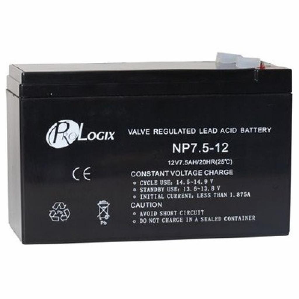 Батарея к ИБП PrologiX 12В 7.5 Ач (12-7.5)
