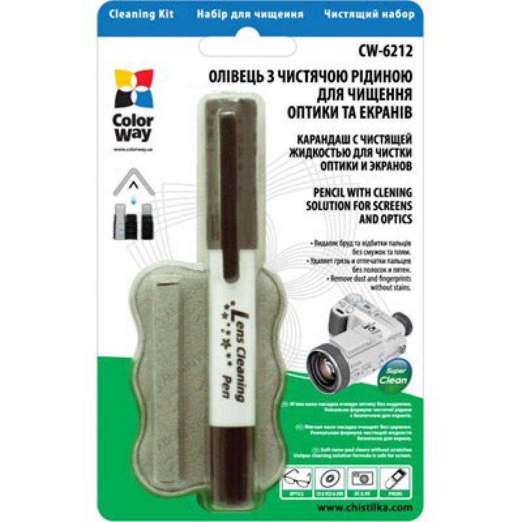 Очиститель для оптики ColorWay олівець, рідина для оптики (CW-6212)