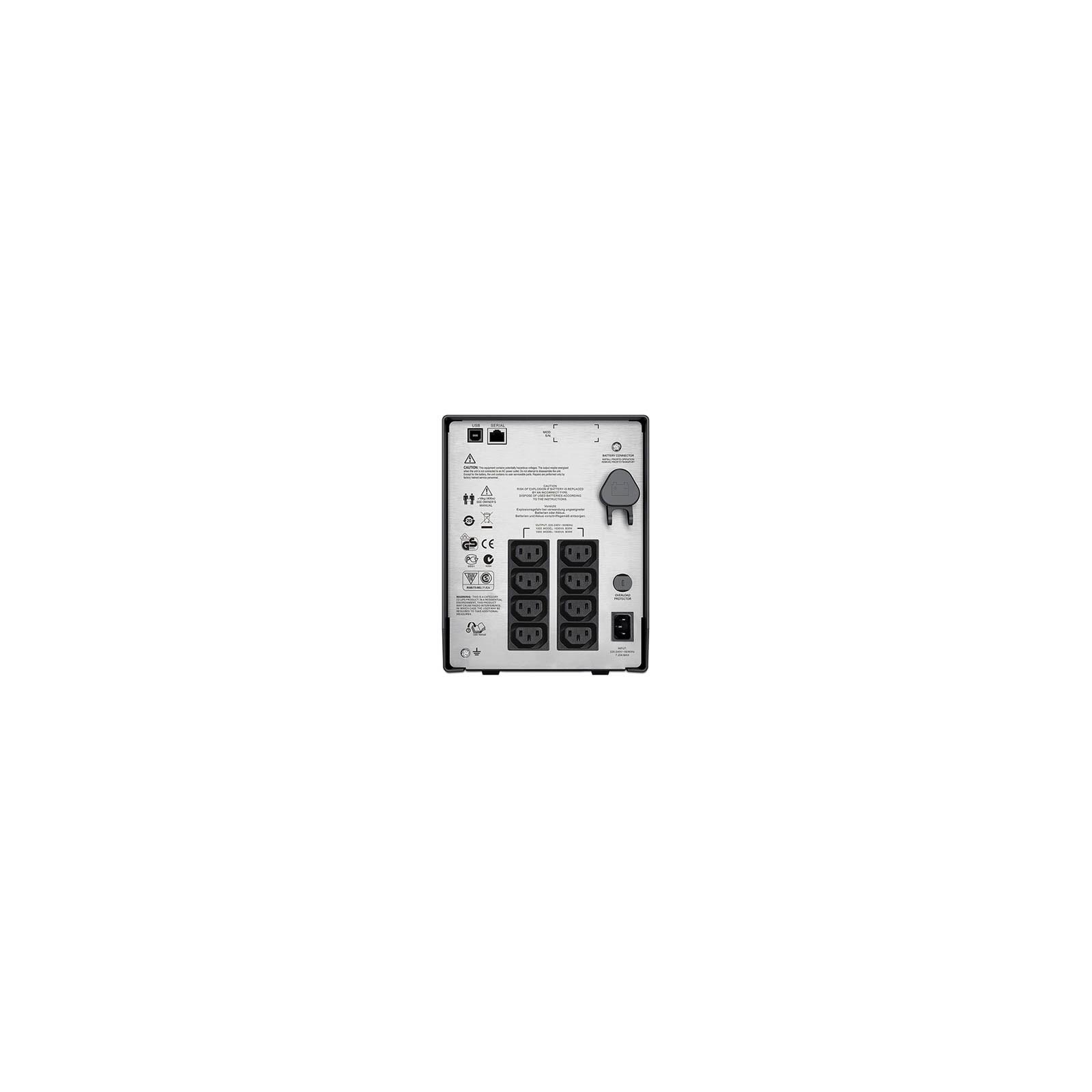 Источник бесперебойного питания APC Smart-UPS C 1500VA LCD 230V (SMC1500I) изображение 2