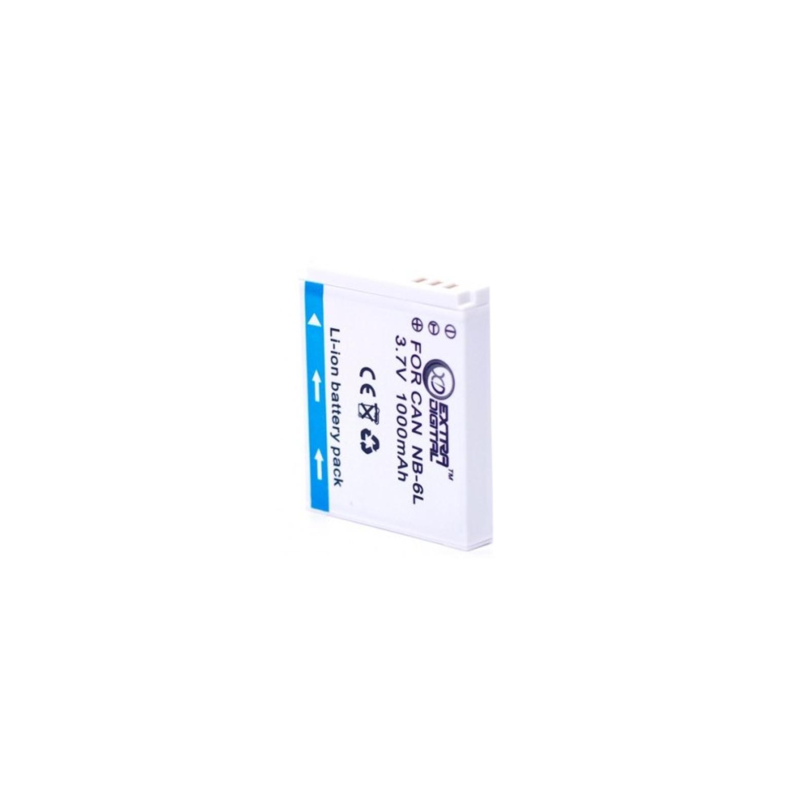 Аккумулятор к фото/видео EXTRADIGITAL Canon NB-6L (BDC2444) изображение 2