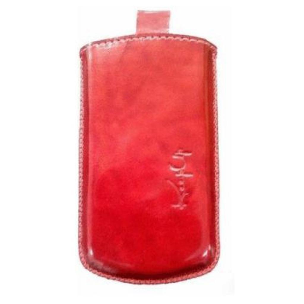 Чехол для моб. телефона KeepUp для LG E400 Optimus L3 Red/pouch (00-00007461)
