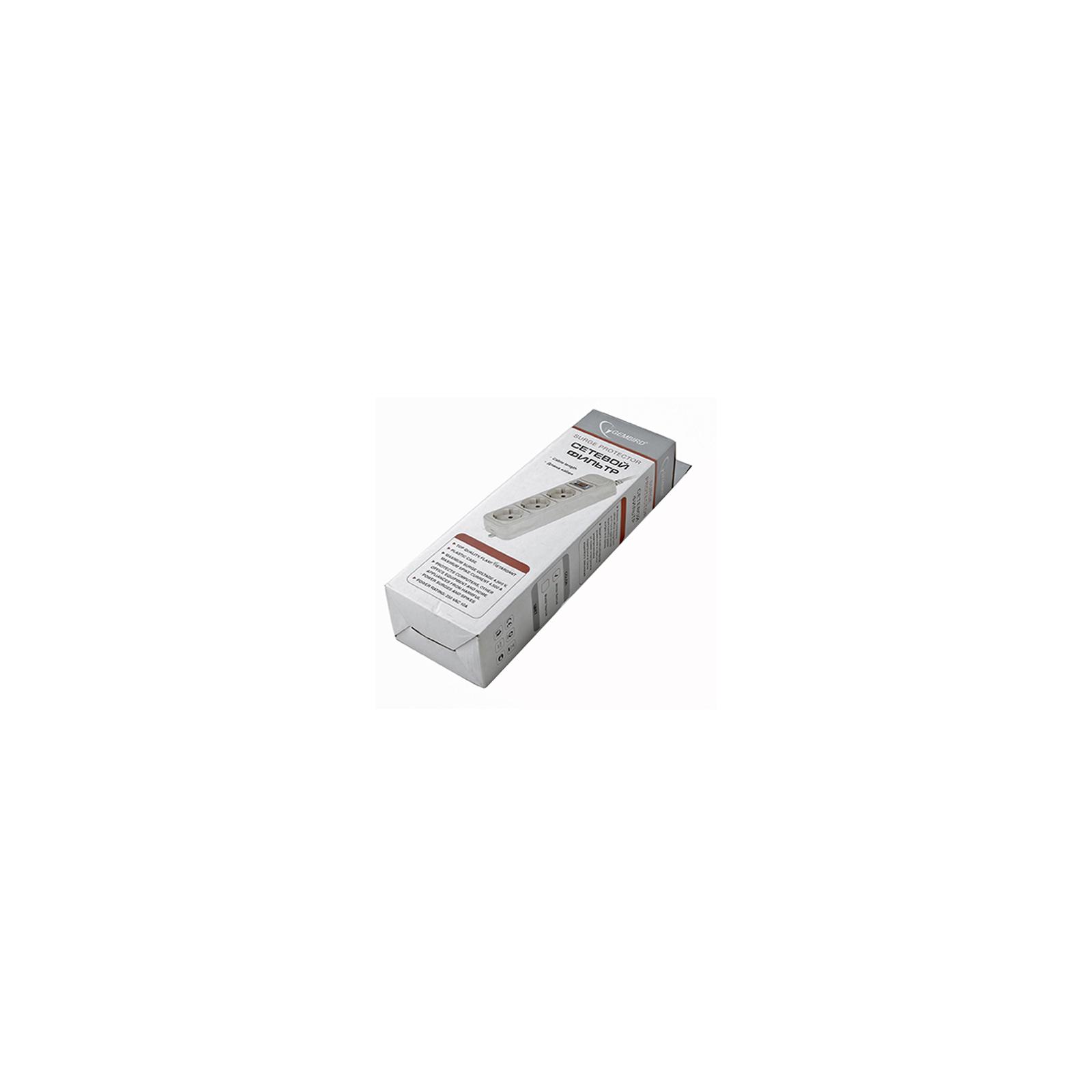 Сетевой фильтр питания Surgerprotector SPG3W-B-15PP (SP3-G-15W) изображение 2