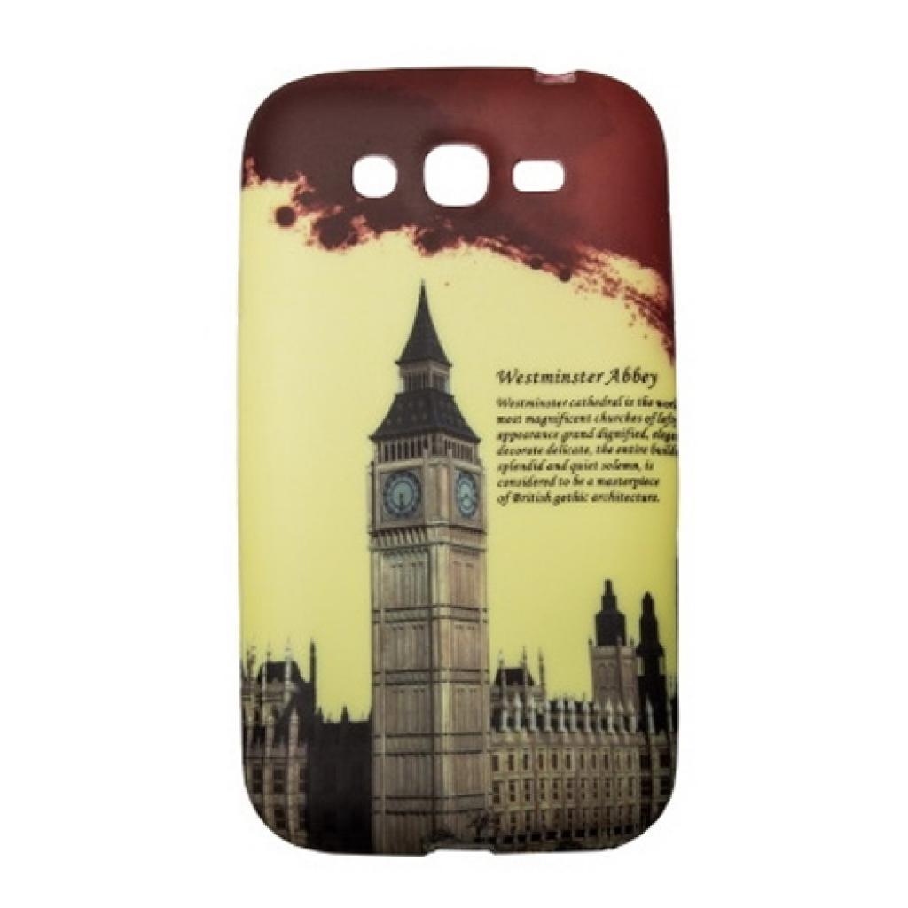 Чехол для моб. телефона Drobak для Samsung I9082 Galaxy Grand Duos /Elastic PU/Big Ben (216048)