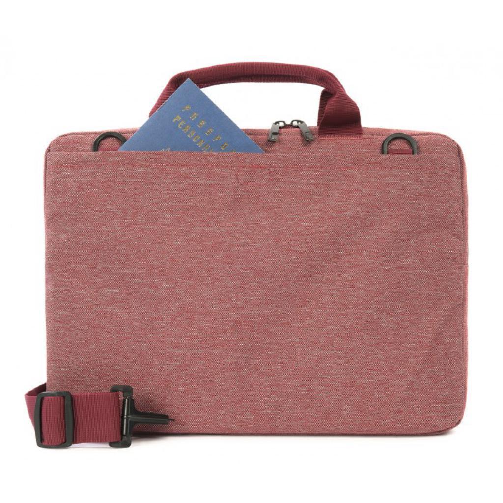Сумка для ноутбука Tucano 13 Linea Red (BLIN13-R) изображение 4
