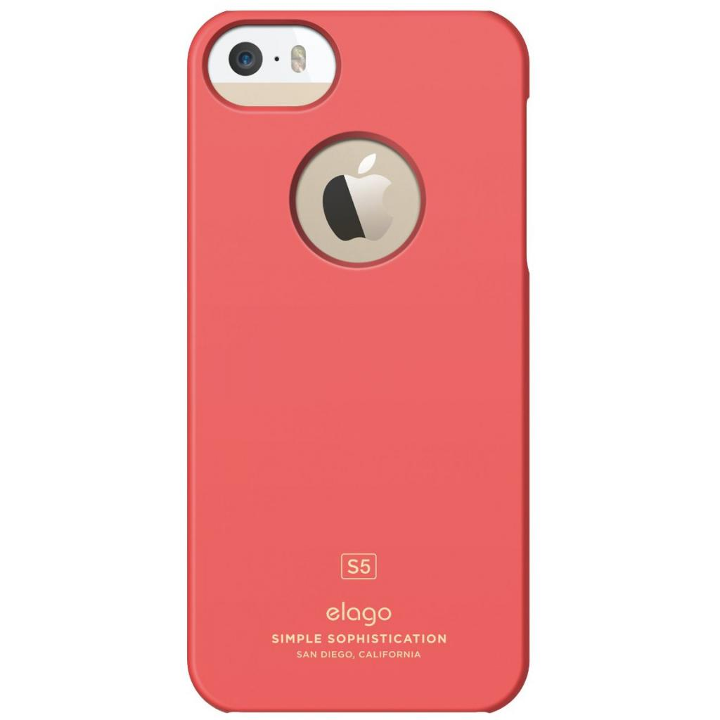 Чехол для моб. телефона ELAGO для iPhone 5 /Slim Fit Soft/Italian Rose (ELS5SM-SFIRO-RT) изображение 3