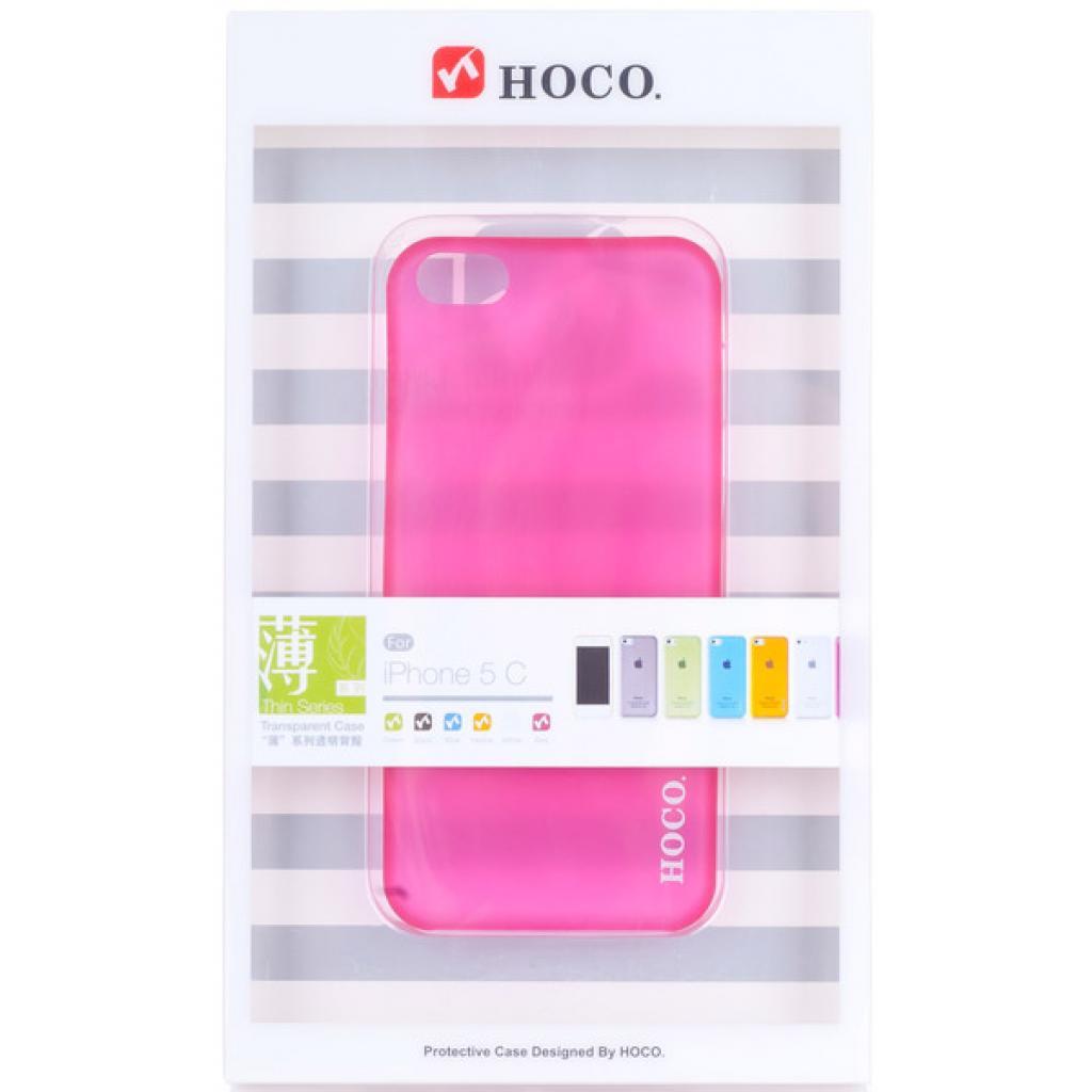 Чехол для моб. телефона HOCO для iPhone 5C /Ultra Thin (HI-P011 Rose Red)