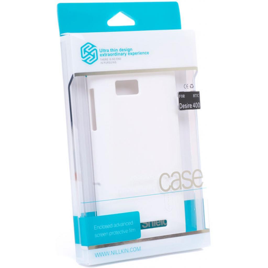 Чехол для моб. телефона NILLKIN для HTC Desire 400 /Super Frosted Shield/White (6120358)