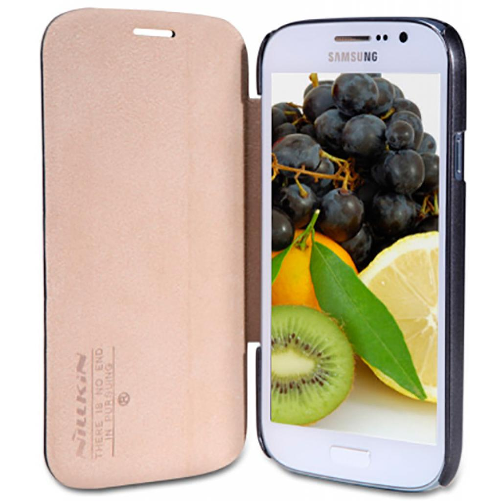 Чехол для моб. телефона NILLKIN для Samsung I9082 /Fresh/ Leather/Black (6065843) изображение 2
