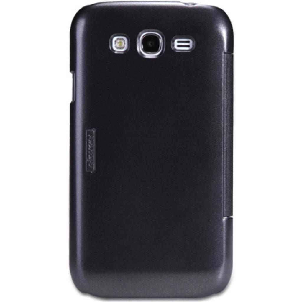 Чехол для моб. телефона NILLKIN для Samsung I9082 /Fresh/ Leather/Black (6065843) изображение 3