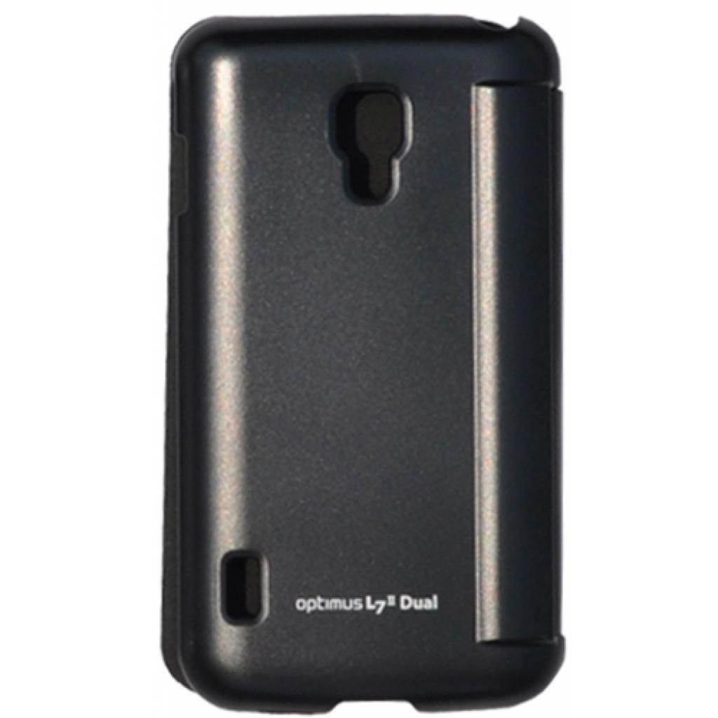 Чехол для моб. телефона VOIA для LG P715 Optimus L7II Dual /Flip/Black (6068248) изображение 3