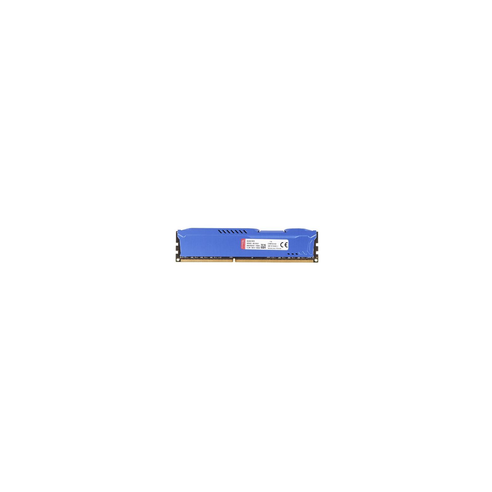 Модуль памяти для компьютера DDR3 8Gb 1866 MHz HyperX Fury Blu Kingston (HX318C10F/8) изображение 3