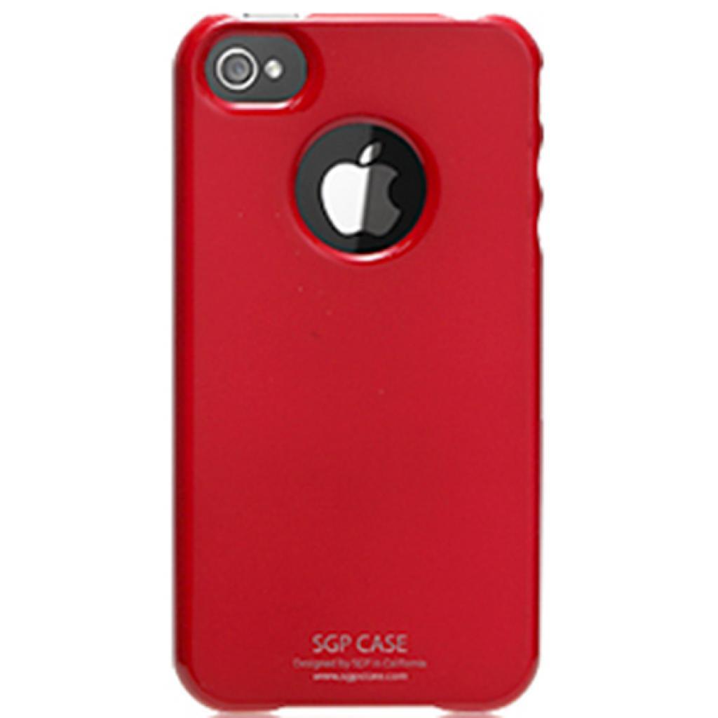 Чехол для моб. телефона Pro-case iPhone 4 ultra thin red (PCUT4SRD)