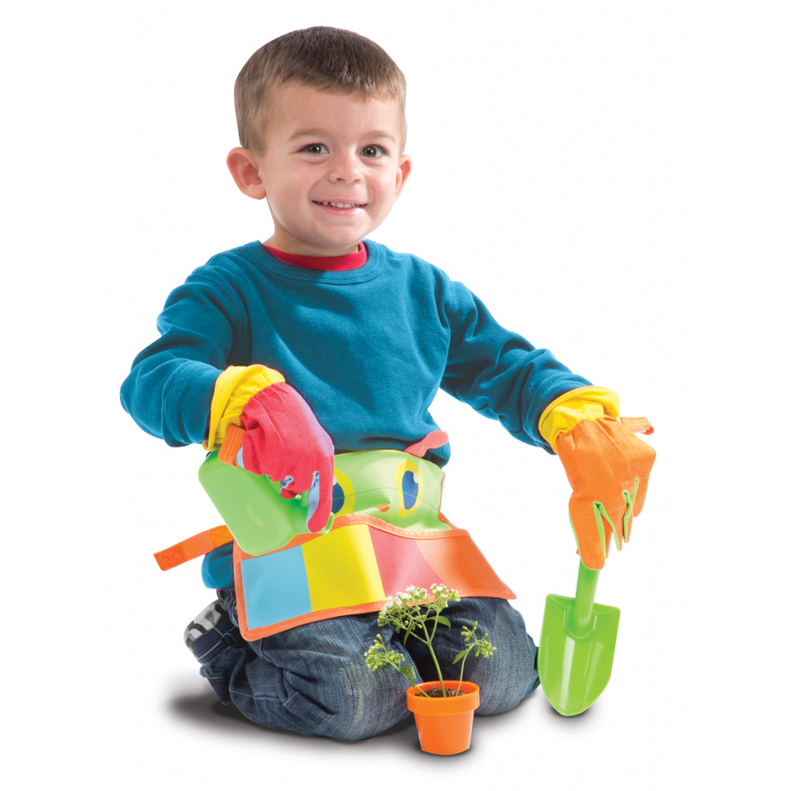 Игровой набор Melissa&Doug Ременной комплект юного садовода Счастливая стрекоза (MD6215) изображение 3