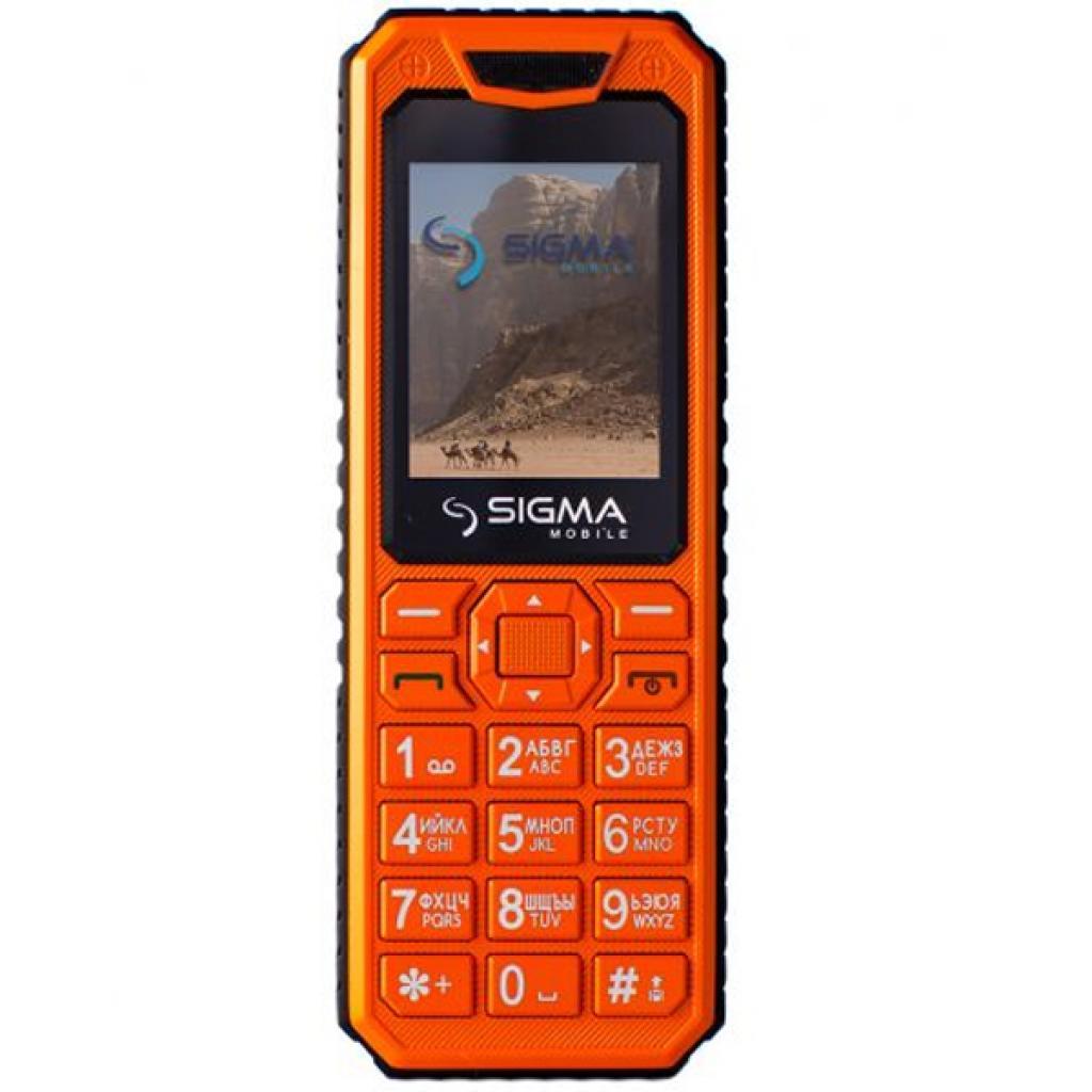 Мобильный телефон Sigma X-style 11 Dual Sim All Orange (4827798327258)