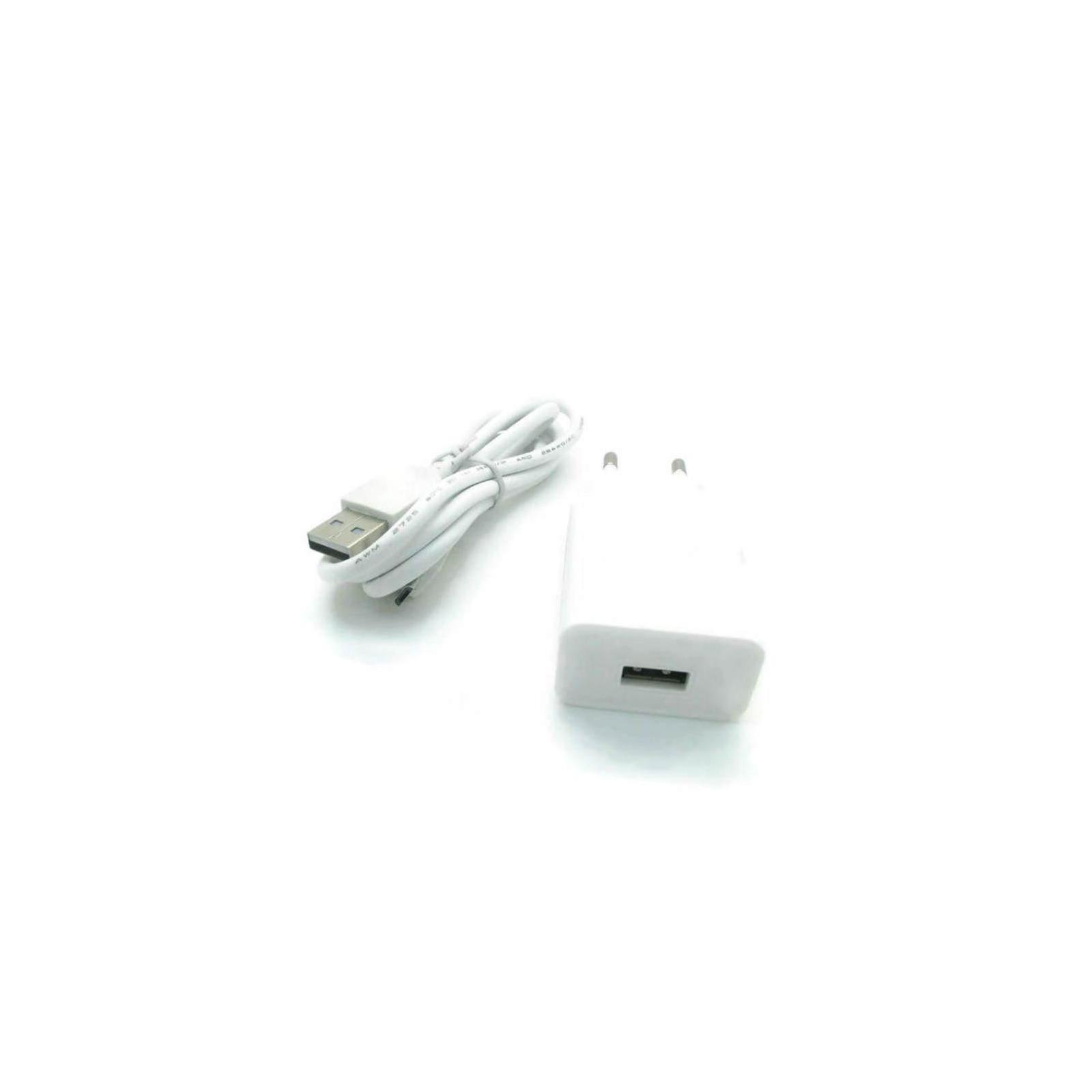 Зарядное устройство Lenovo 1.5A + cable White (C-P63 / 41983)