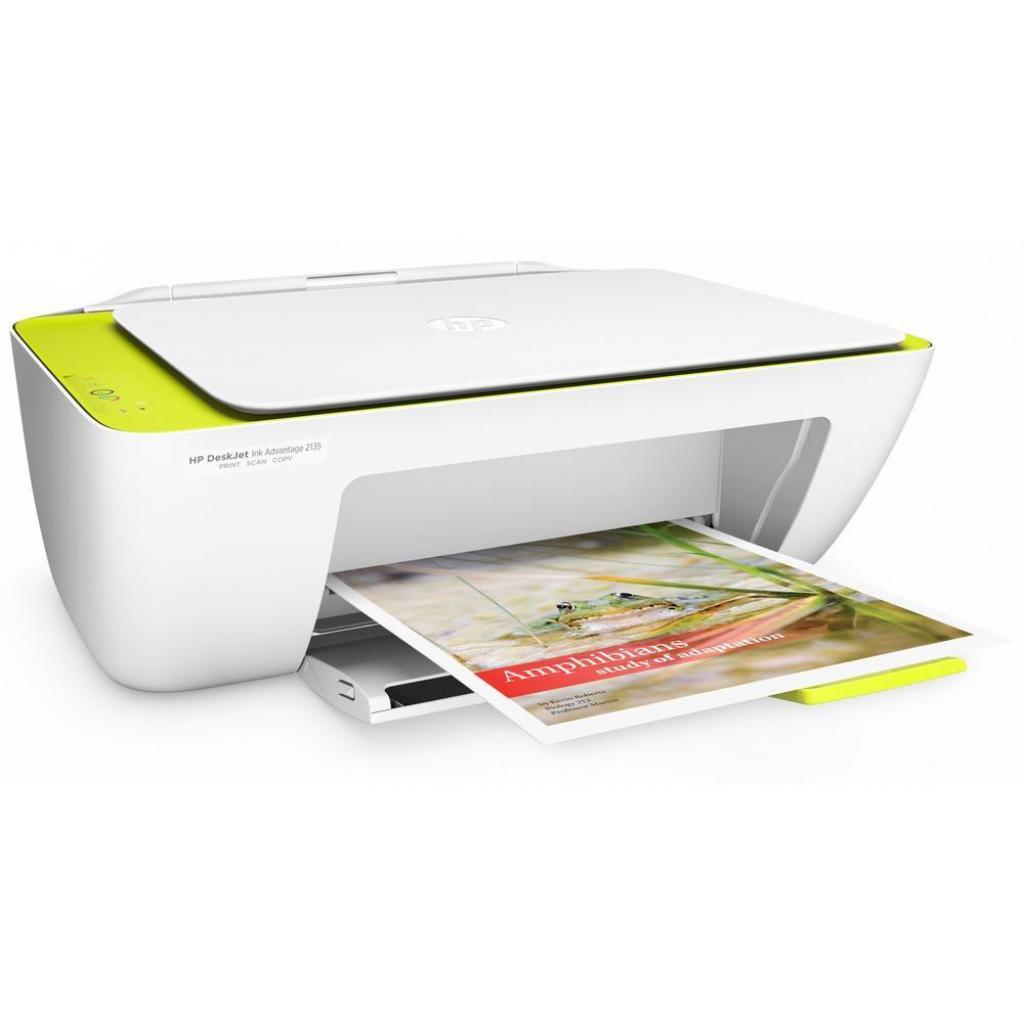 Многофункциональное устройство HP DeskJet Ink Advantage 2135 (F5S29C) изображение 7