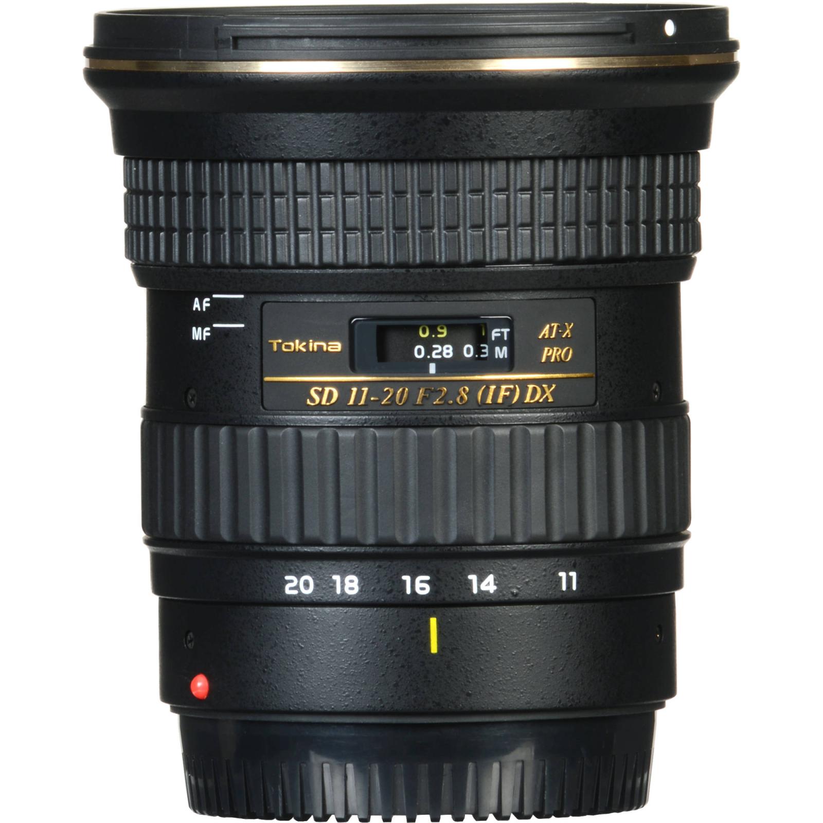 Объектив Tokina AT-X PRO DX 11-20mm f/2.8 (Canon) (ATXAF120DXC) изображение 2