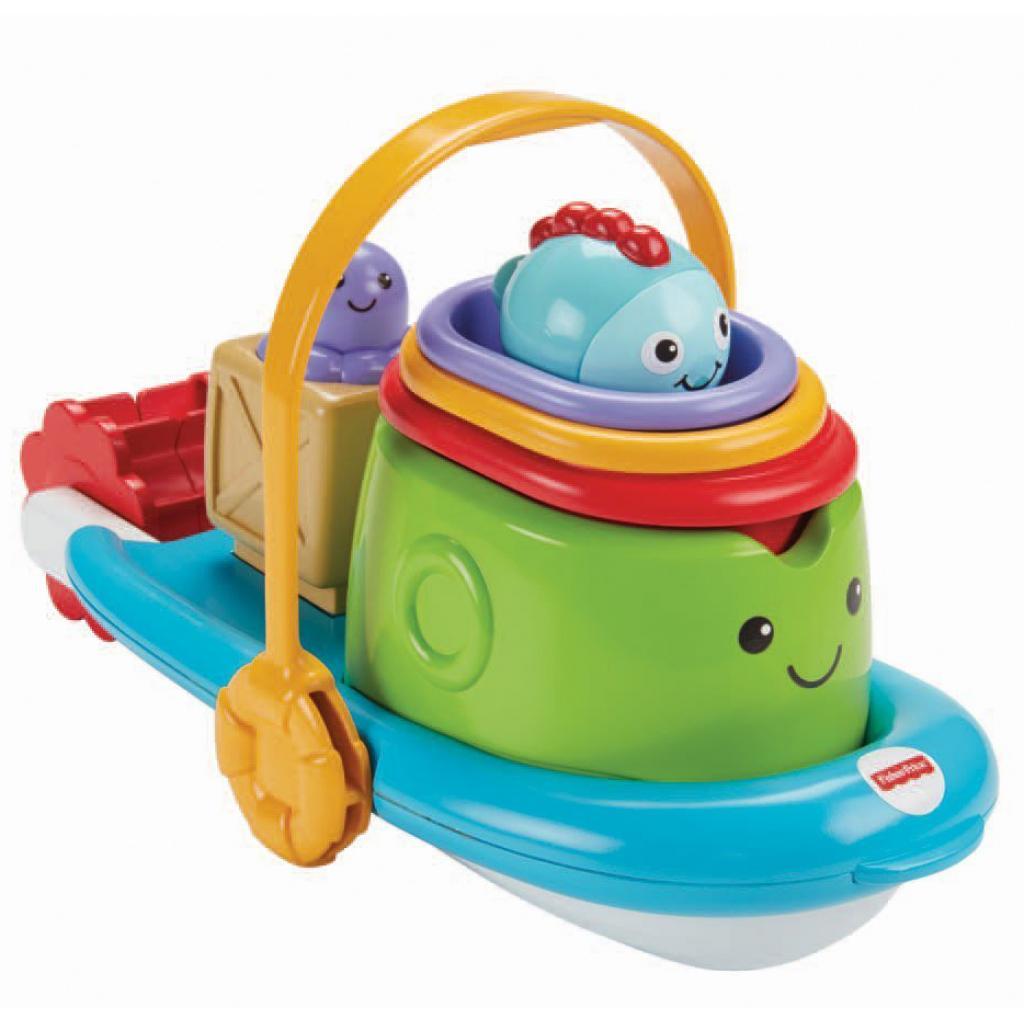 Игрушка для ванной Fisher-Price Корабль и лодочки (BFH59) изображение 2