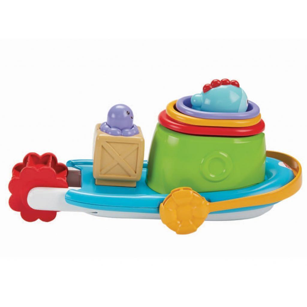 Игрушка для ванной Fisher-Price Корабль и лодочки (BFH59) изображение 3