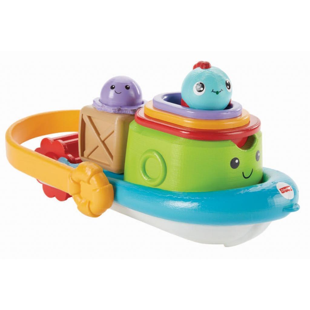 Игрушка для ванной Fisher-Price Корабль и лодочки (BFH59) изображение 4
