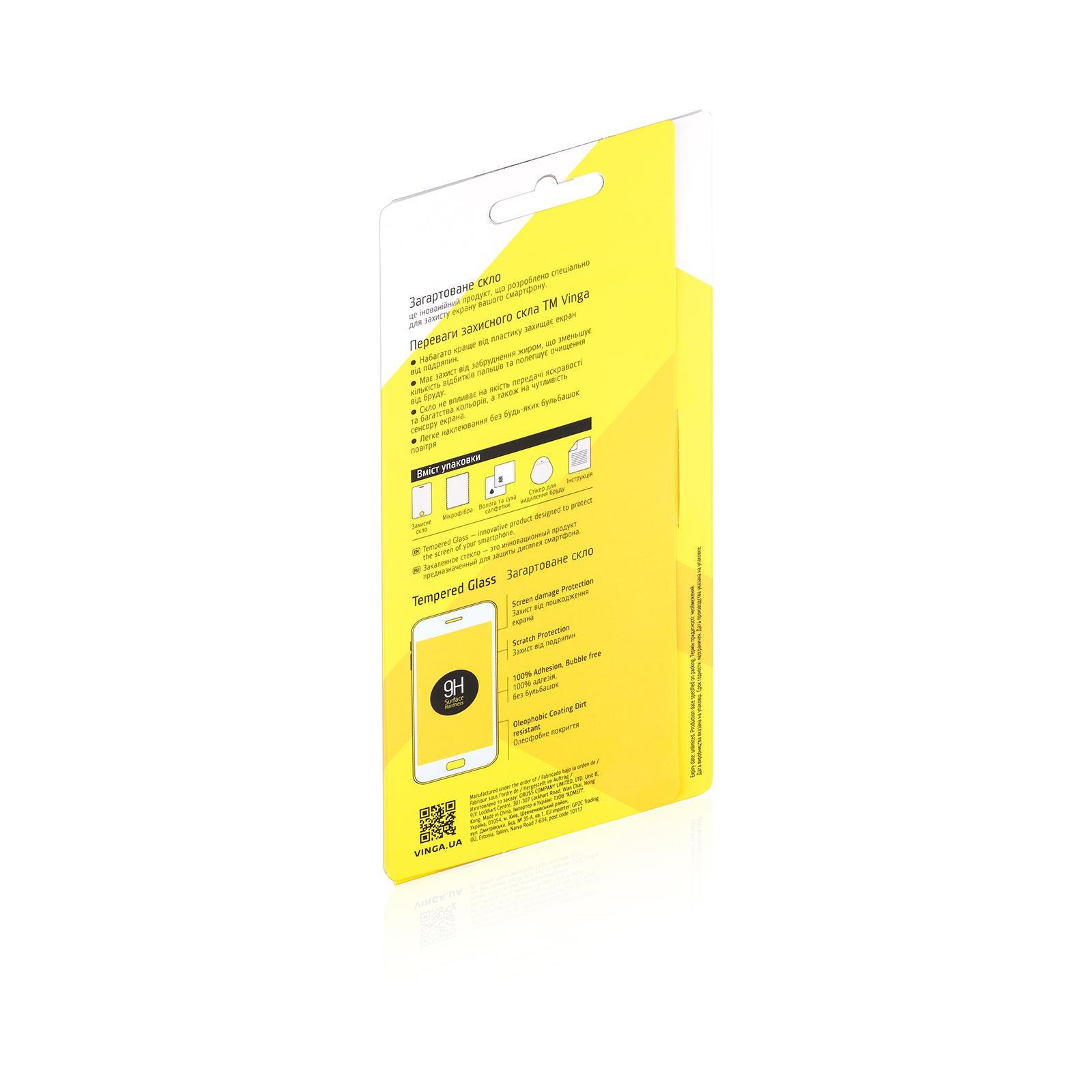 Стекло защитное Vinga для Samsung Galaxy J5 (2015) J500 (TGPS-SJ500) изображение 2