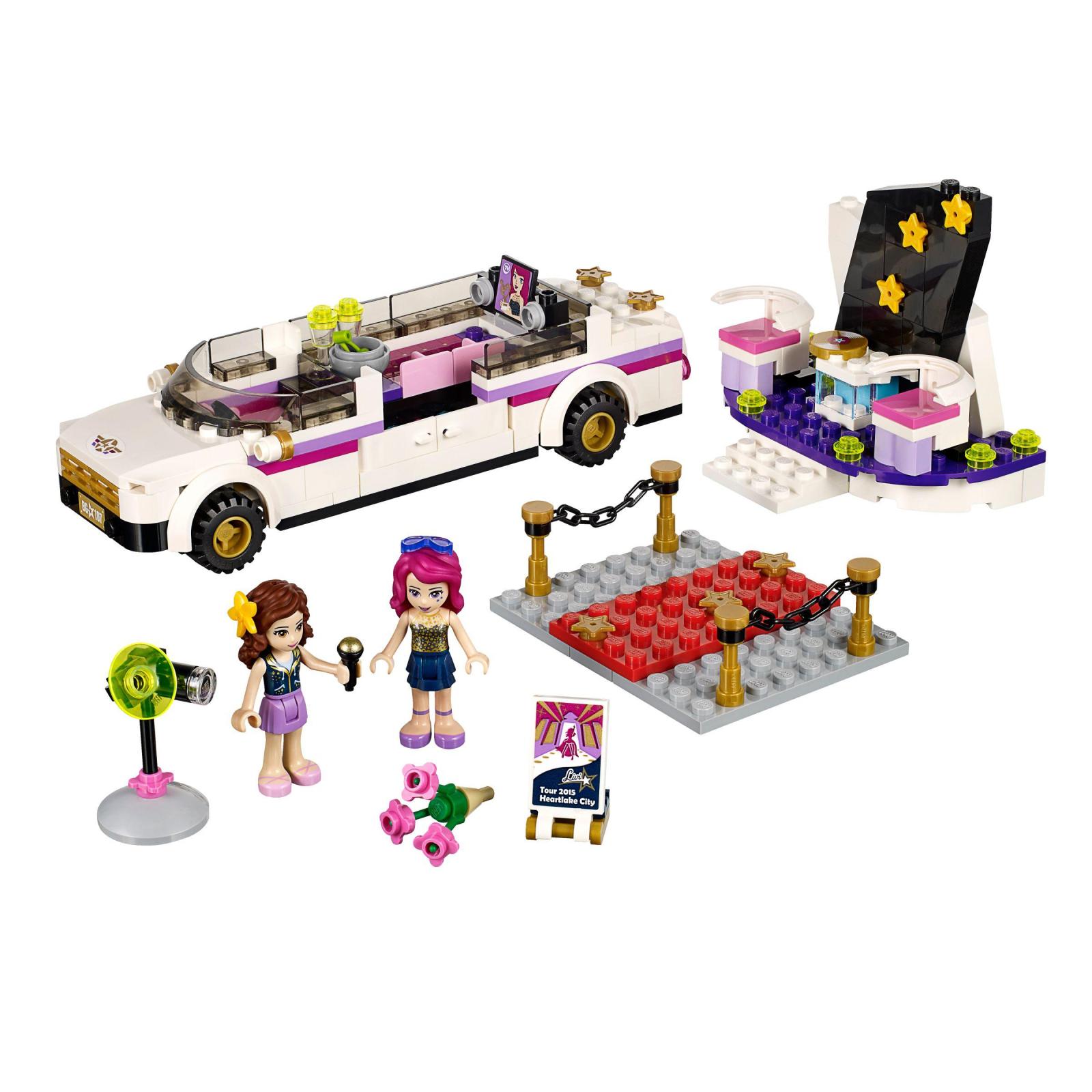 Конструктор LEGO Friends Лимузин поп-звезды (41107) изображение 2