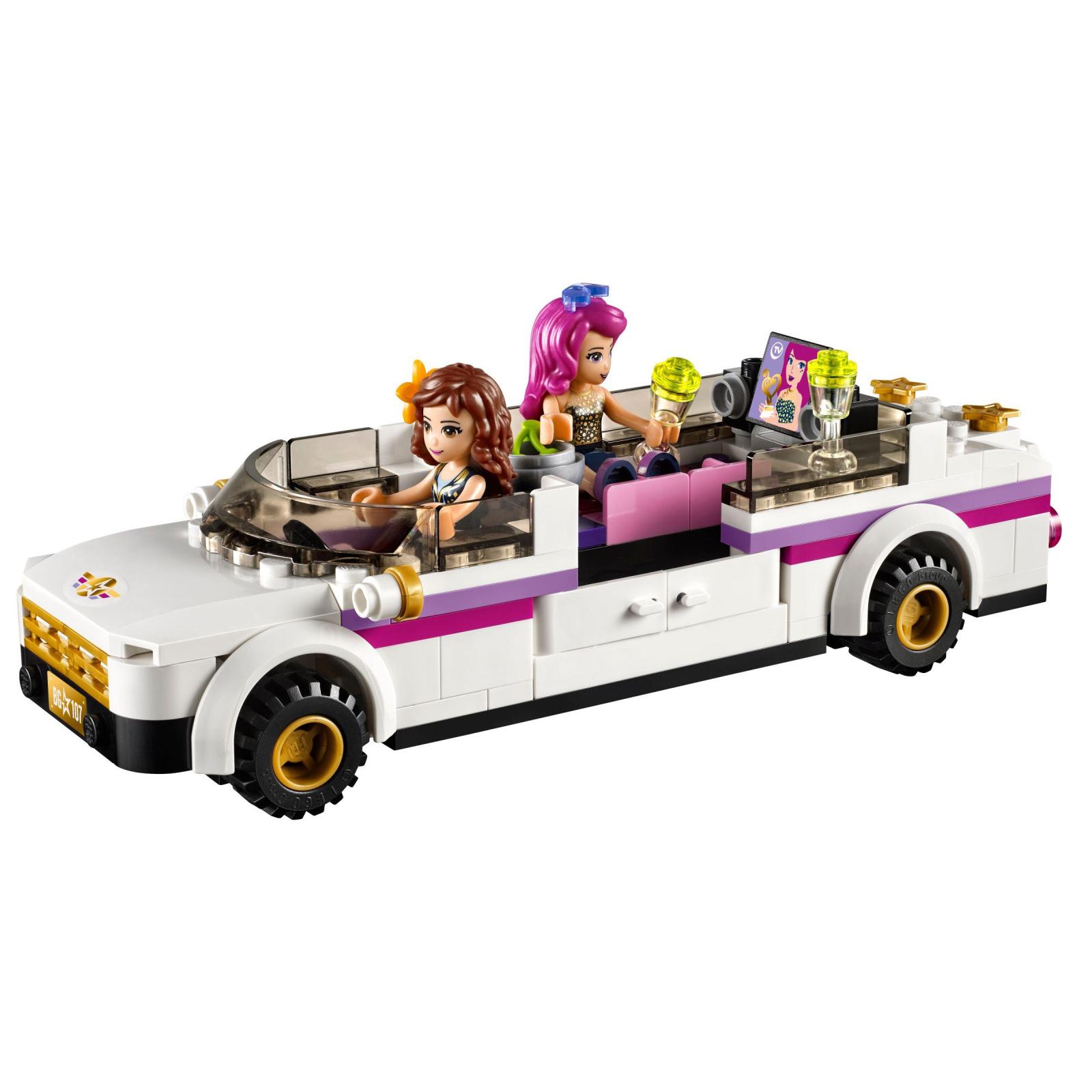 Конструктор LEGO Friends Лимузин поп-звезды (41107) изображение 3