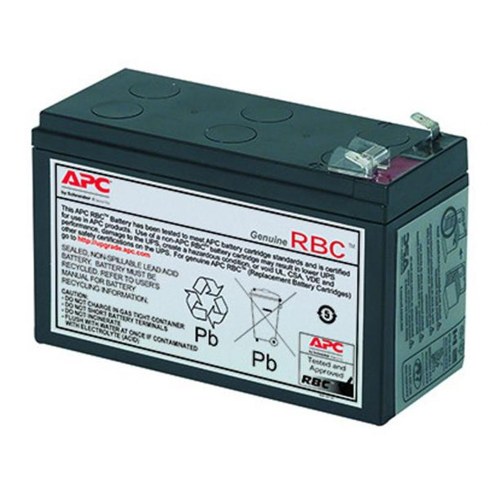Батарея к ИБП APC Replacement Battery Cartridge #106 (APCRBC106)