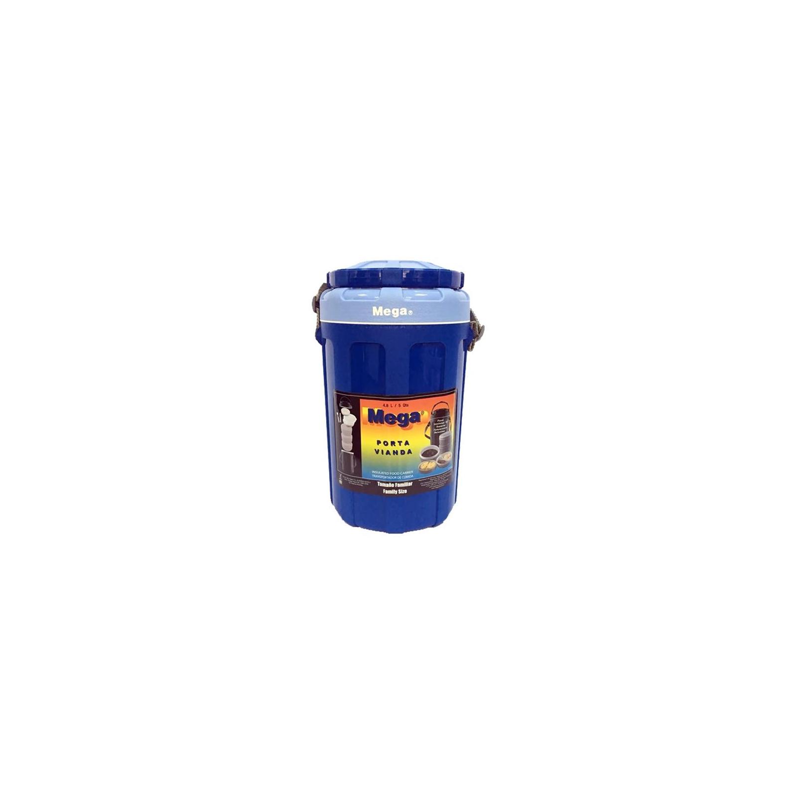 Термобокс Mega 4.8 л синий (717040156184BLUE)