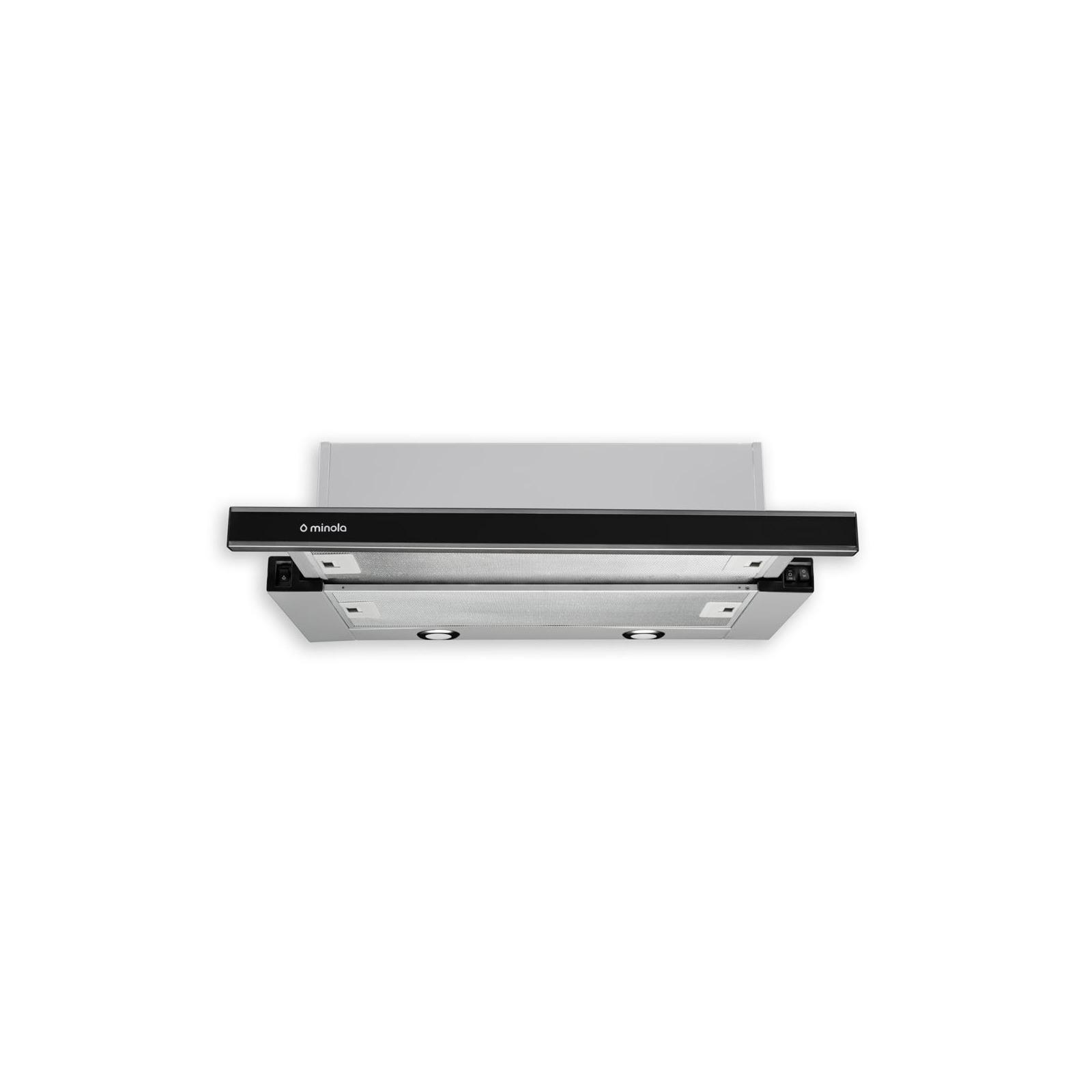Вытяжка кухонная MINOLA HTL 6172 I/BL GLASS 650 LED изображение 2