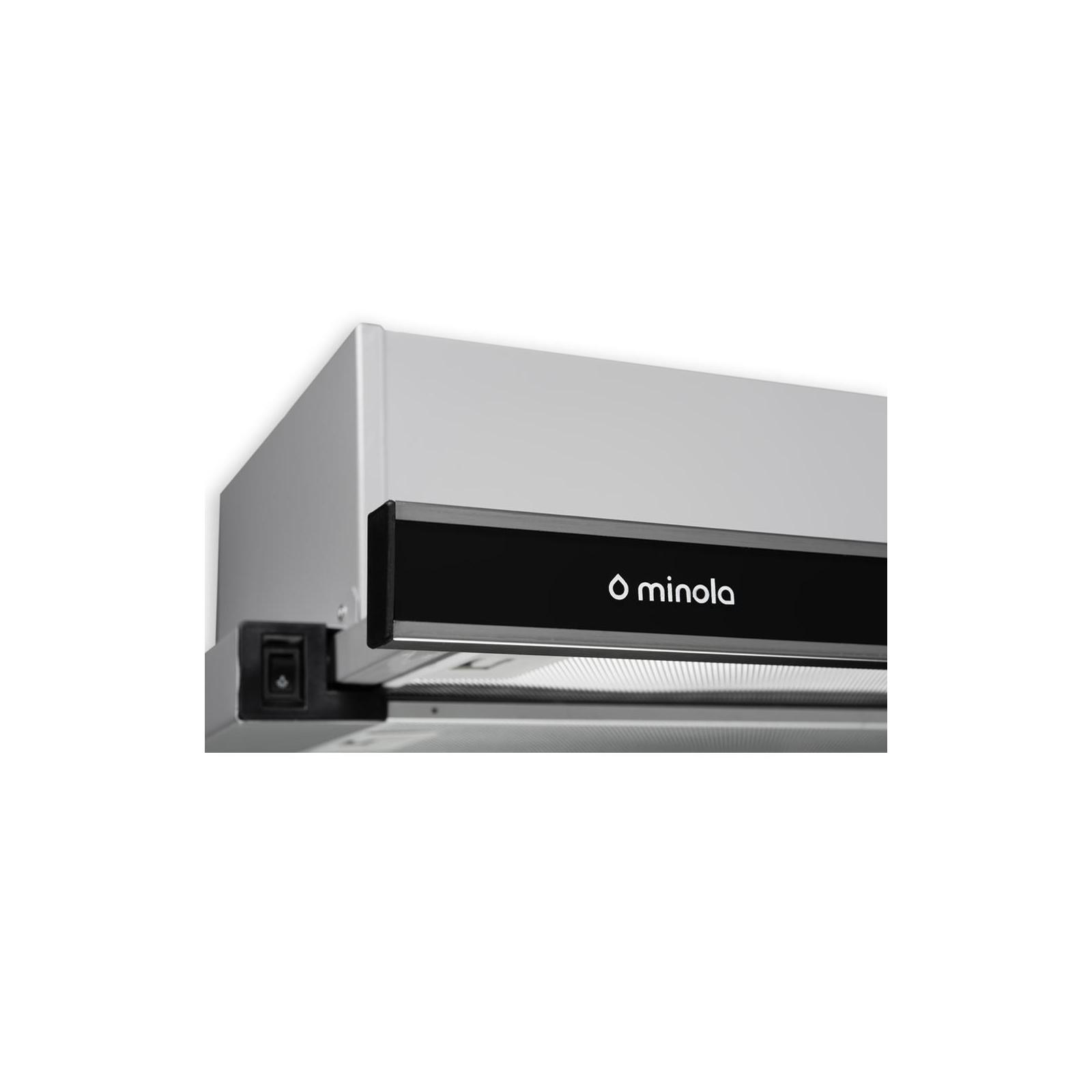Вытяжка кухонная MINOLA HTL 6172 I/BL GLASS 650 LED изображение 4