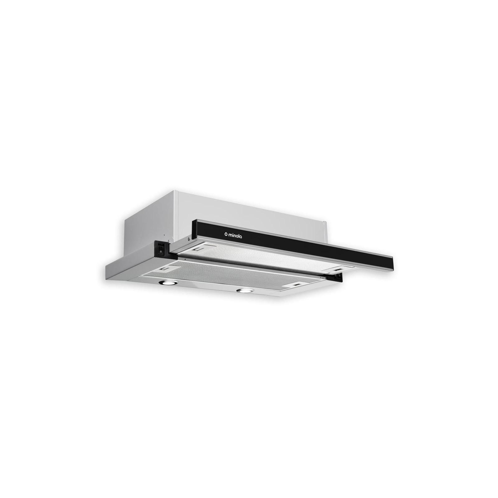 Вытяжка кухонная MINOLA HTL 6172 I/BL GLASS 650 LED