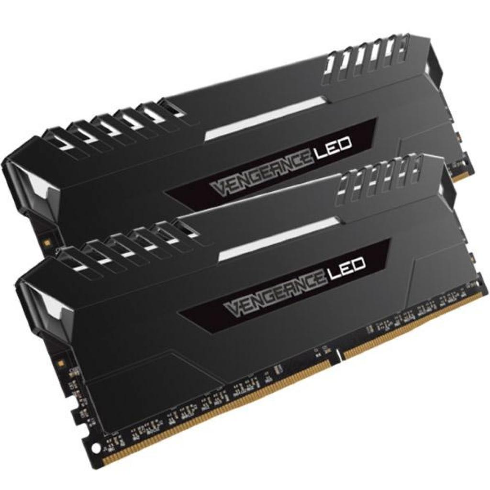 Модуль памяти для компьютера DDR4 16GB (2x8GB) 3000 MHz Vengeance LED White CORSAIR (CMU16GX4M2C3000C15) изображение 2